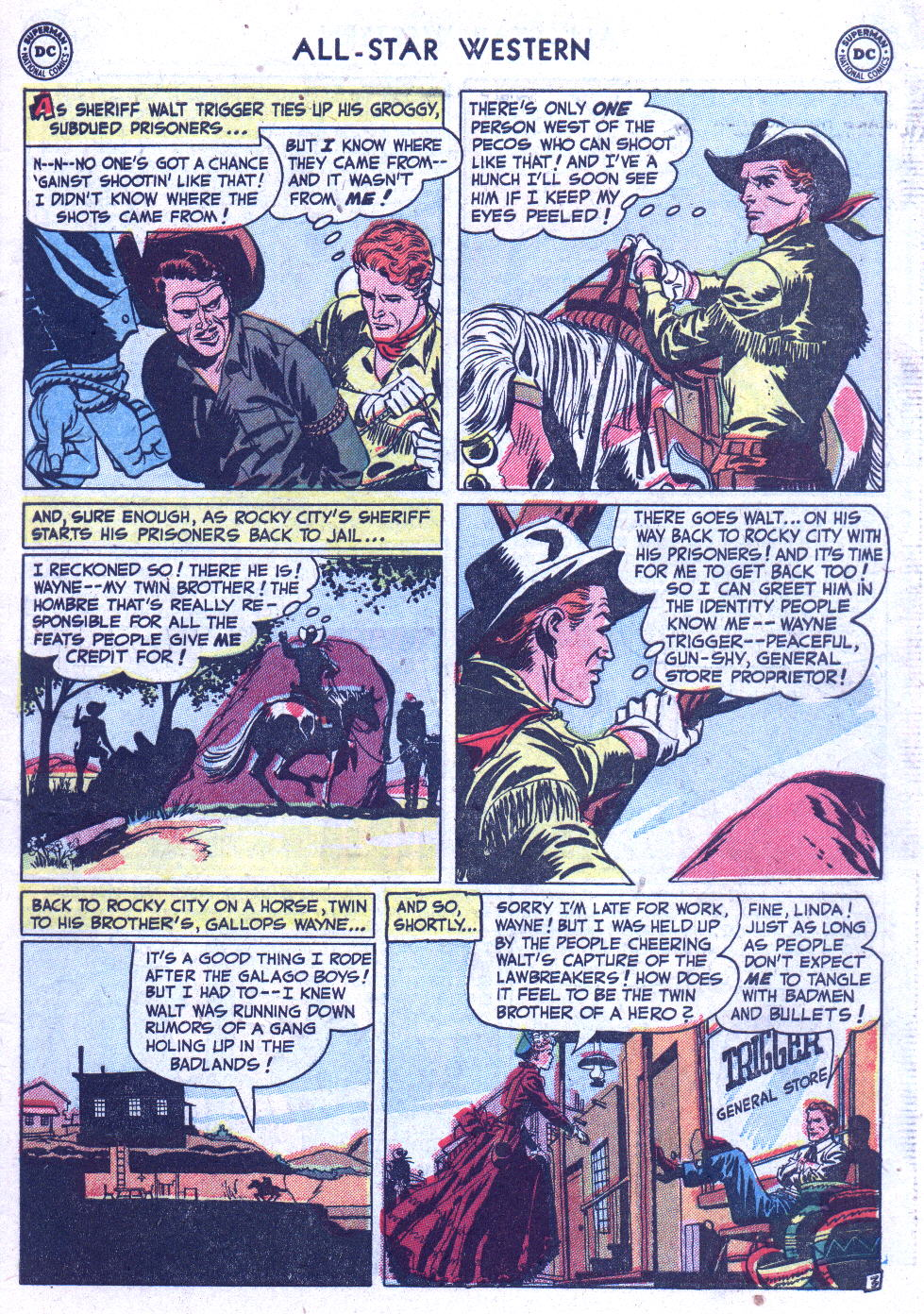 Read online All-Star Western (1951) comic -  Issue #59 - 5