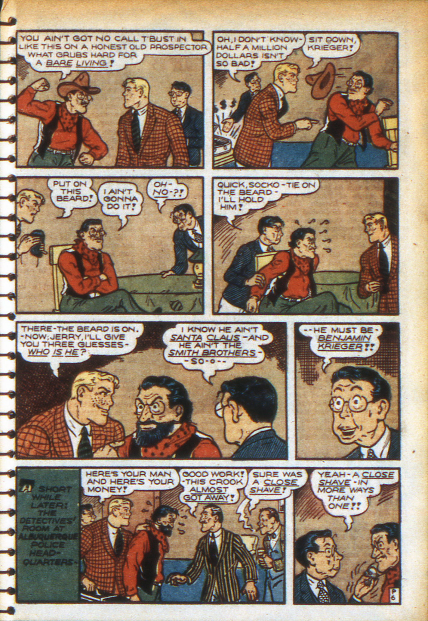 Read online Adventure Comics (1938) comic -  Issue #49 - 41