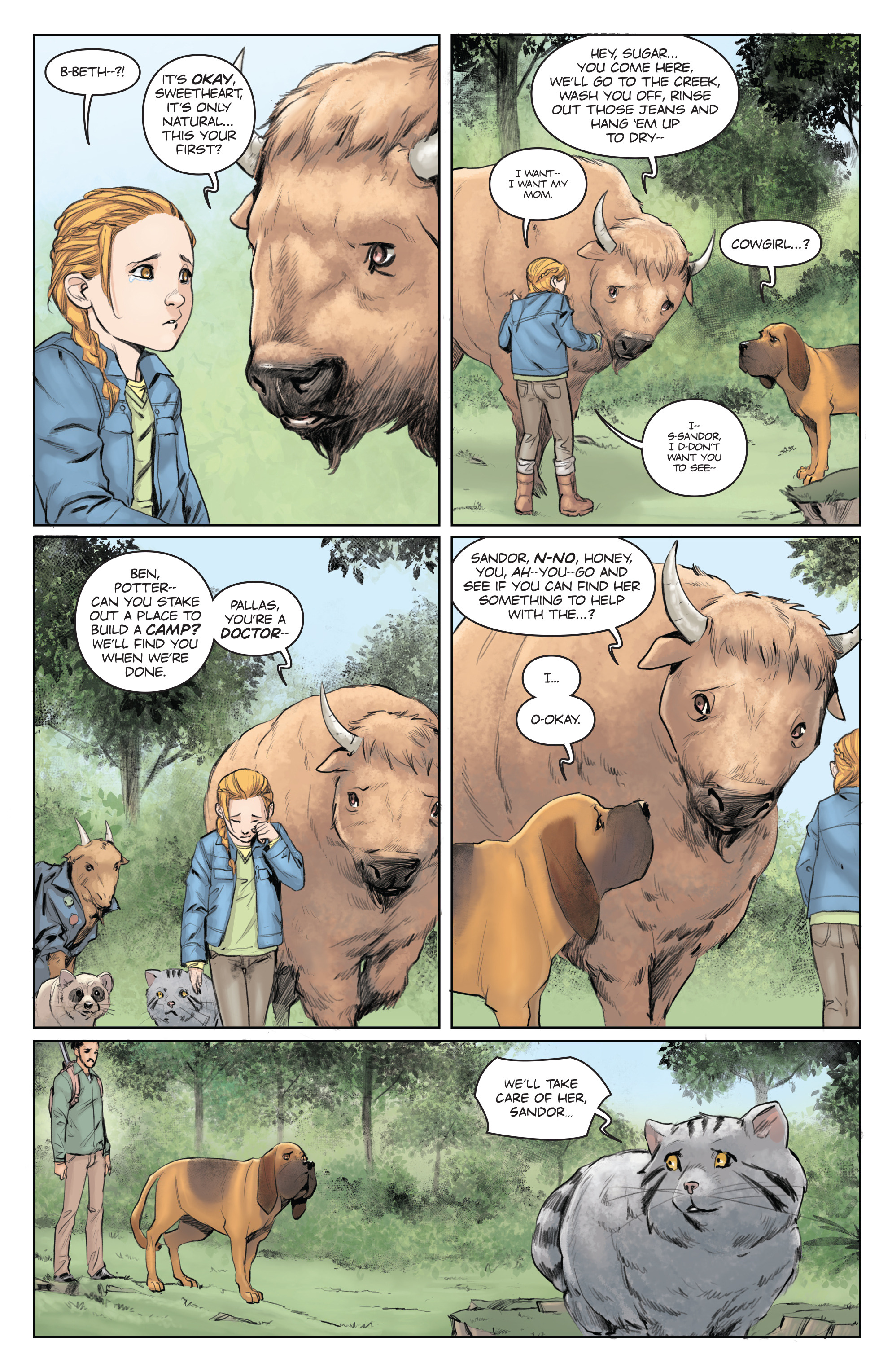 Read online Animosity comic -  Issue #5 - 10
