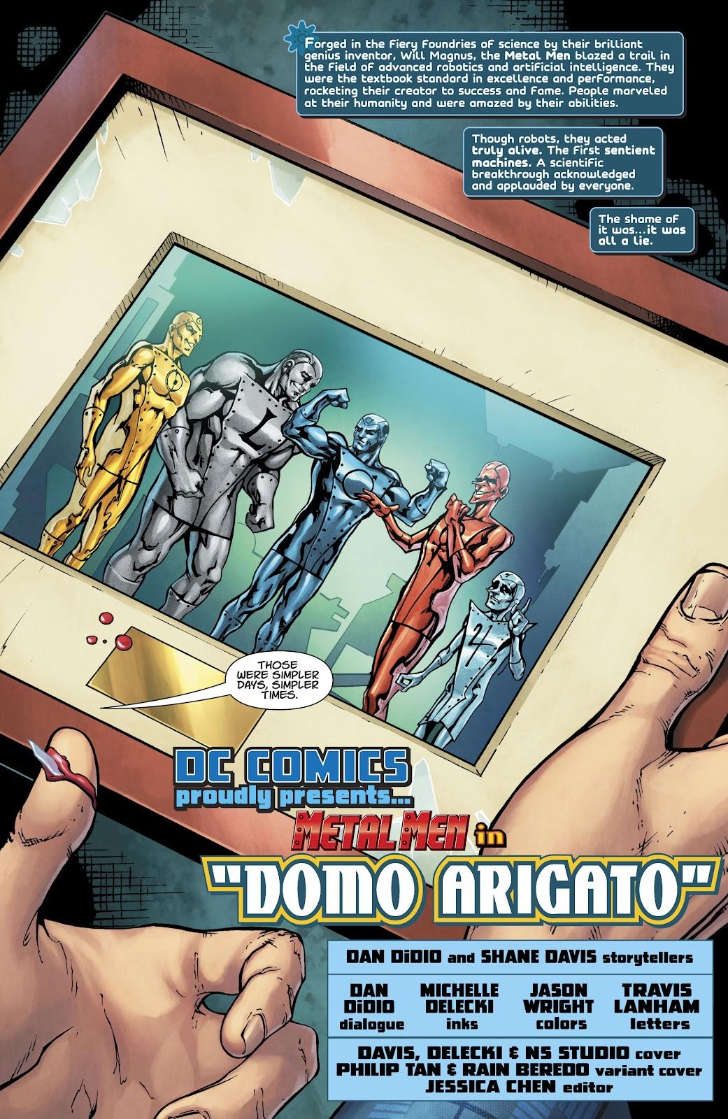 Read online Metal Men (2019) comic -  Issue #1 - 4