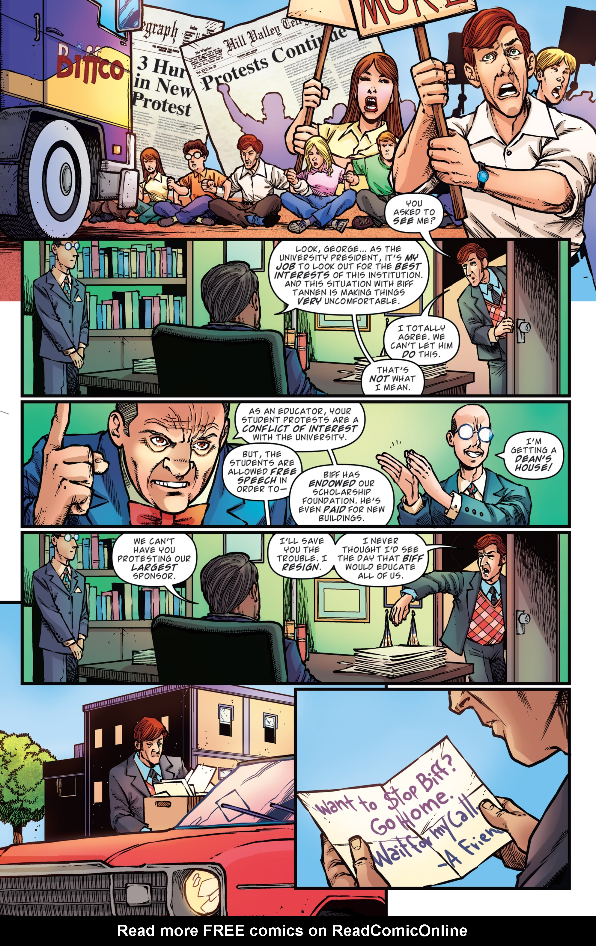 Read online Back to the Future: Biff to the Future comic -  Issue #3 - 18