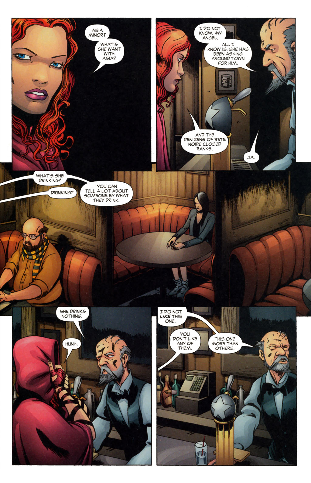 Read online Fallen Angel (2003) comic -  Issue #13 - 6