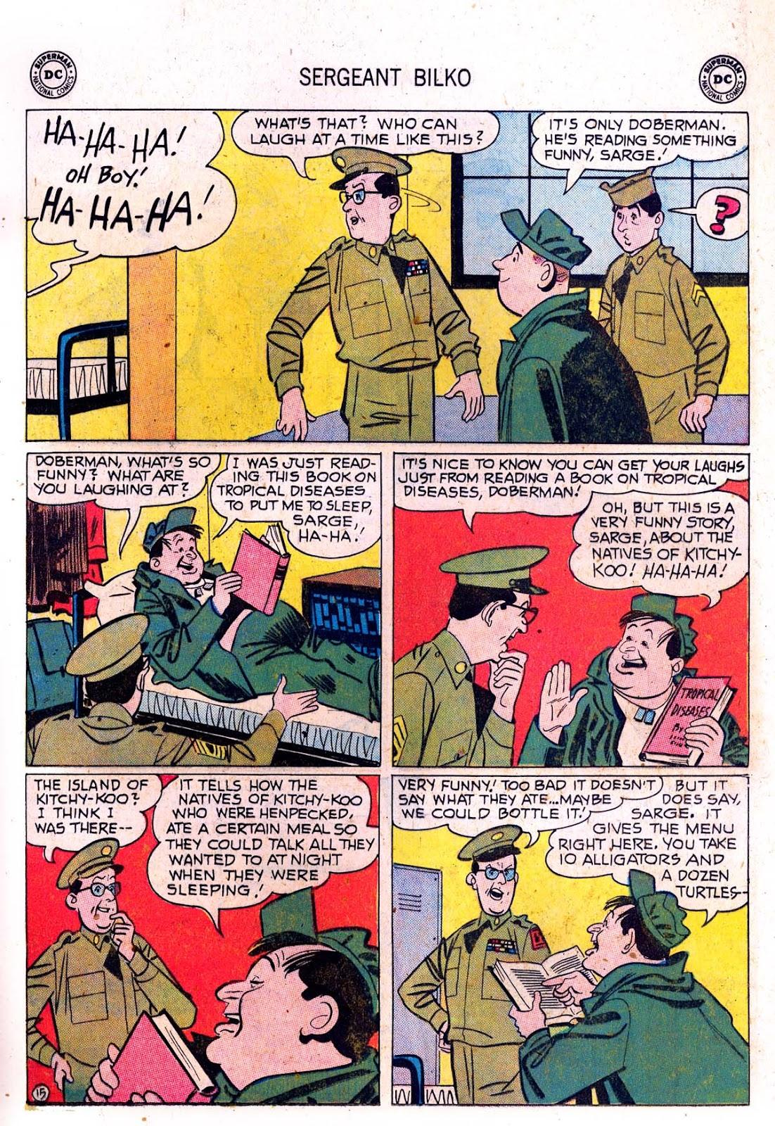 Sergeant Bilko issue 7 - Page 17