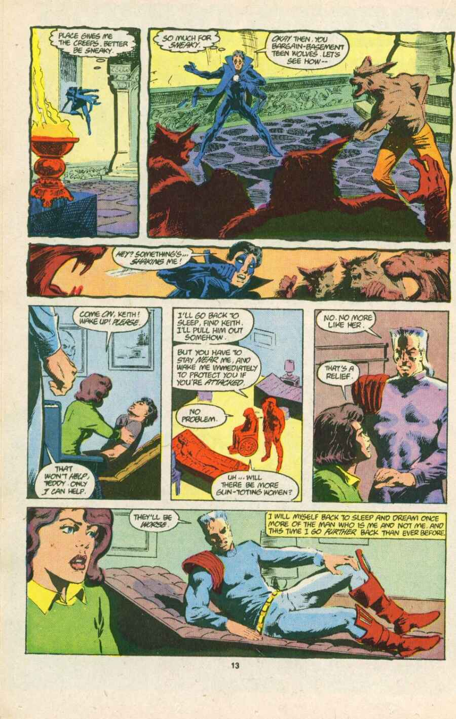 Read online Justice (1986) comic -  Issue #15 - 14