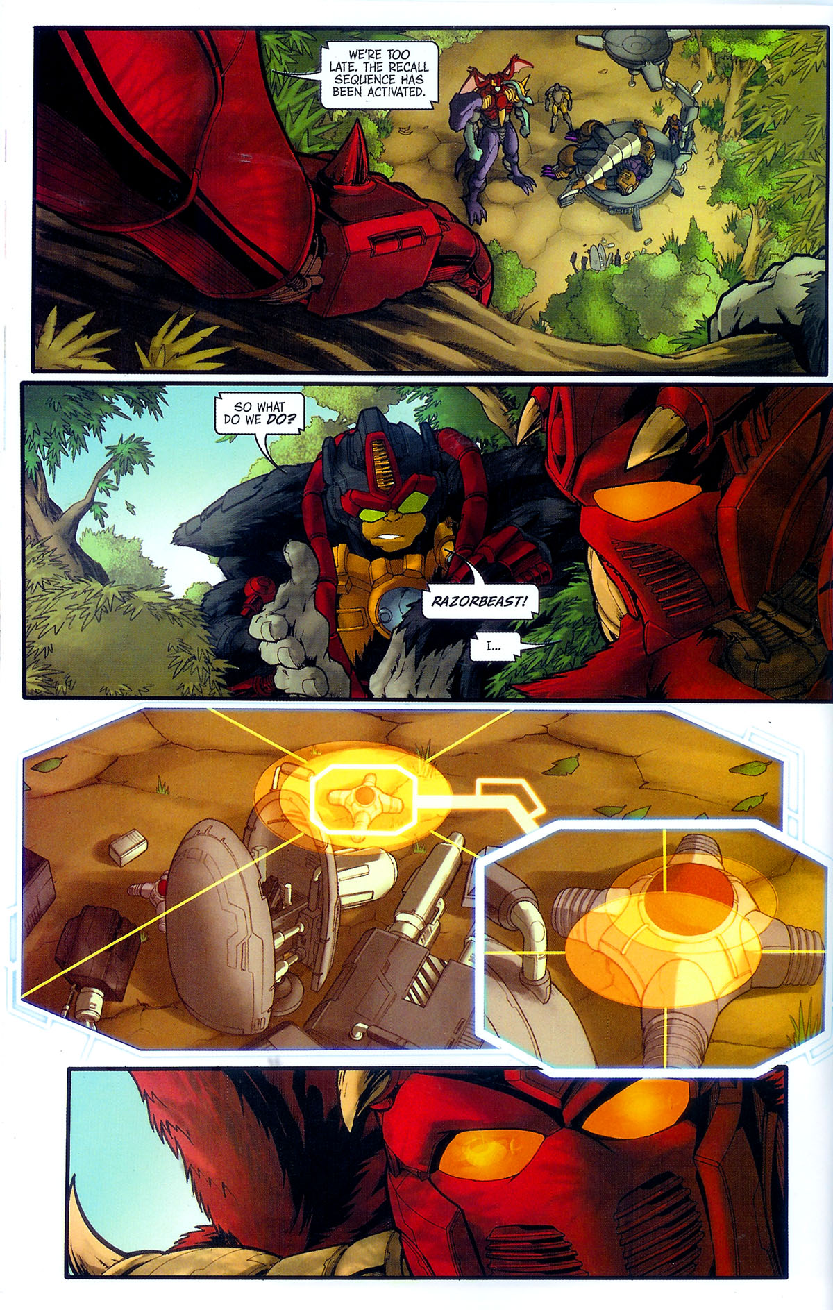Read online Transformers, Beast Wars: The Gathering comic -  Issue #3 - 25