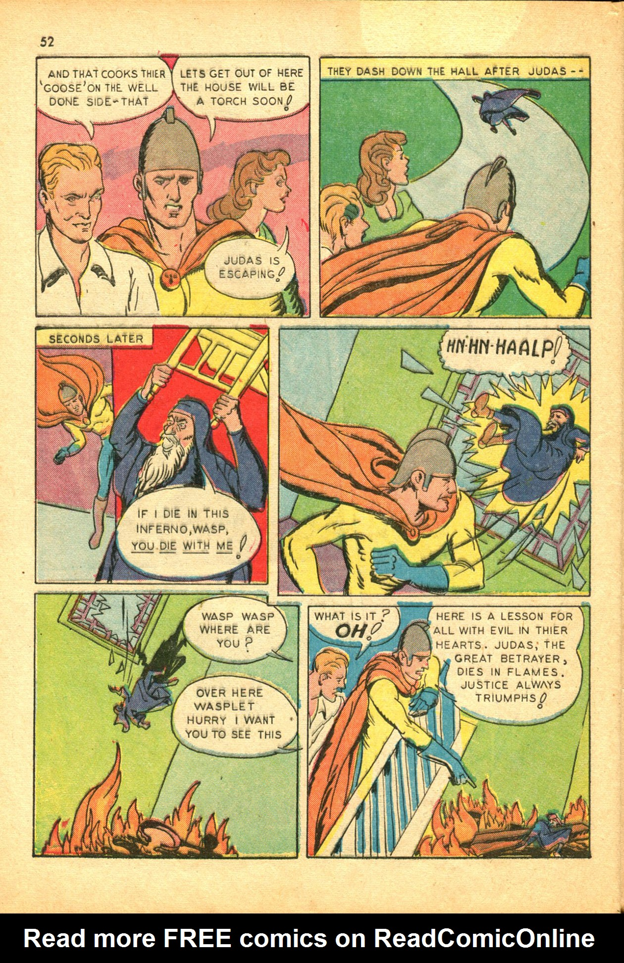 Read online Shadow Comics comic -  Issue #30 - 52