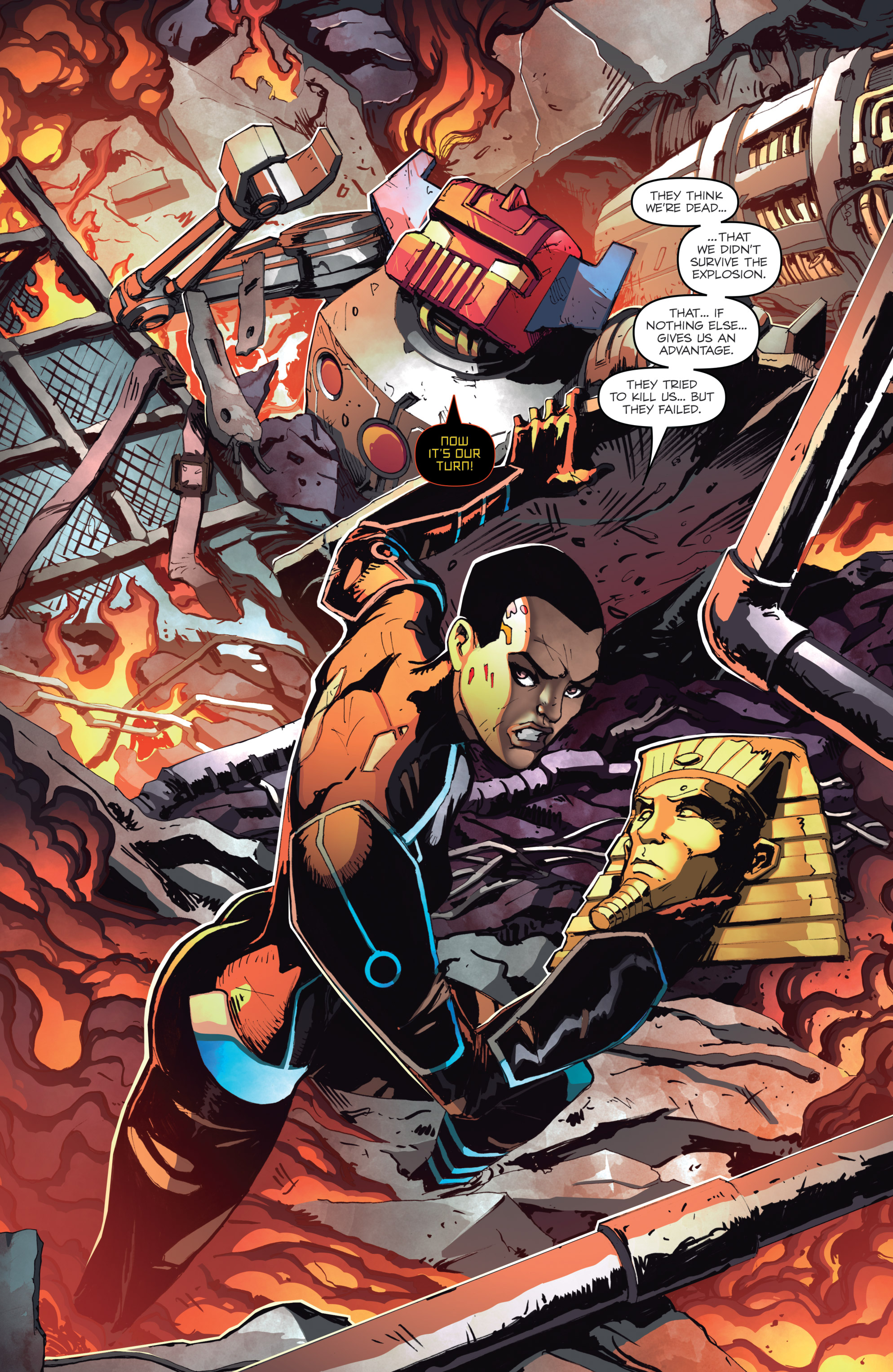 Read online Micronauts: Wrath of Karza comic -  Issue #2 - 22