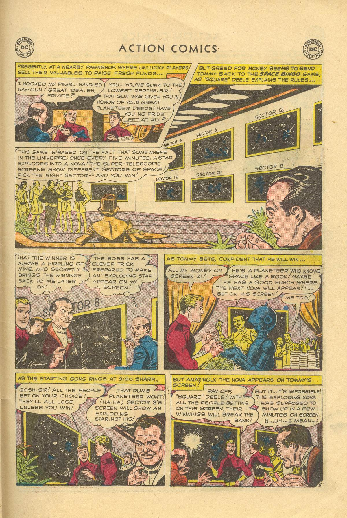 Read online Action Comics (1938) comic -  Issue #249 - 31