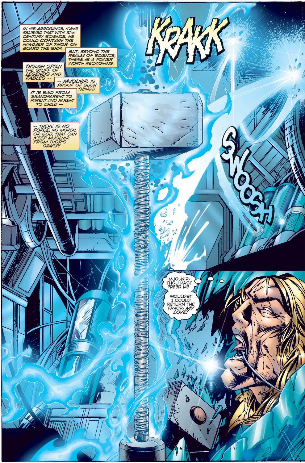 Read online Avengers (1996) comic -  Issue #3 - 8