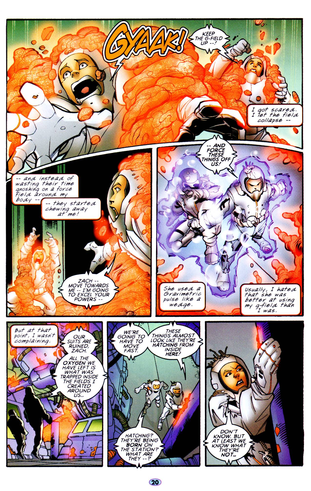 Read online Troublemakers comic -  Issue #6 - 17