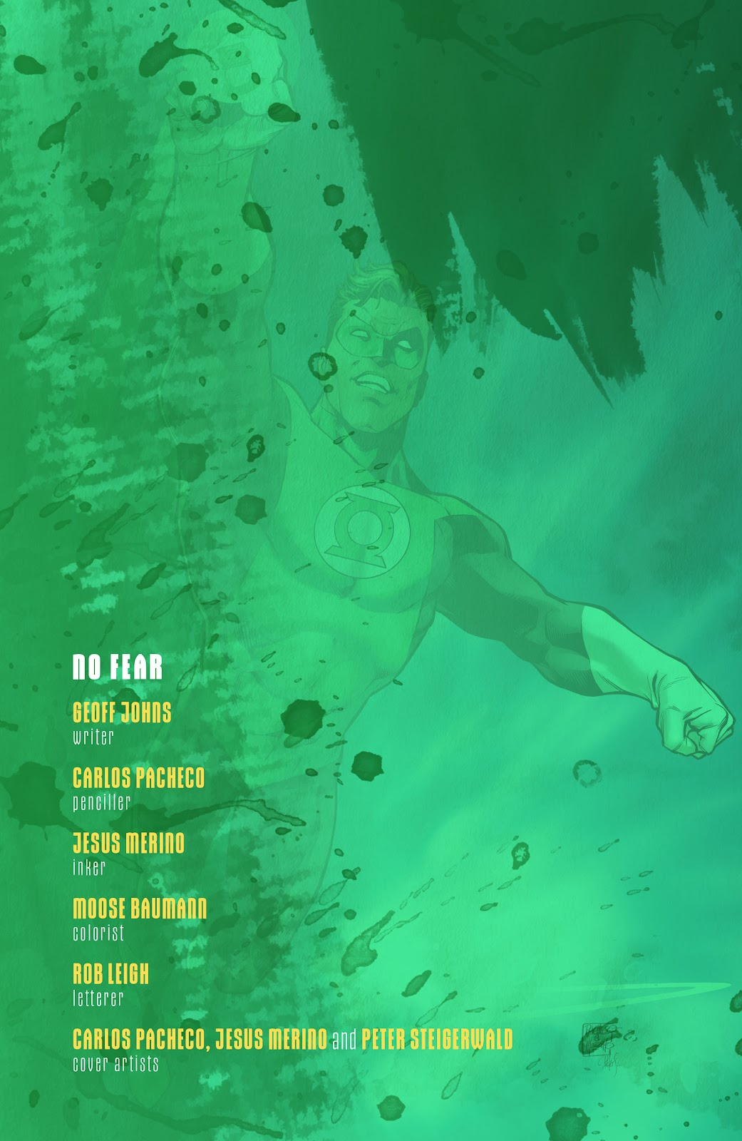 Read online Green Lantern by Geoff Johns comic -  Issue # TPB 1 (Part 4) - 24
