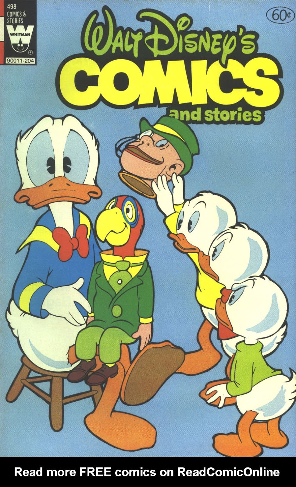 Walt Disney's Comics and Stories issue 498 - Page 1