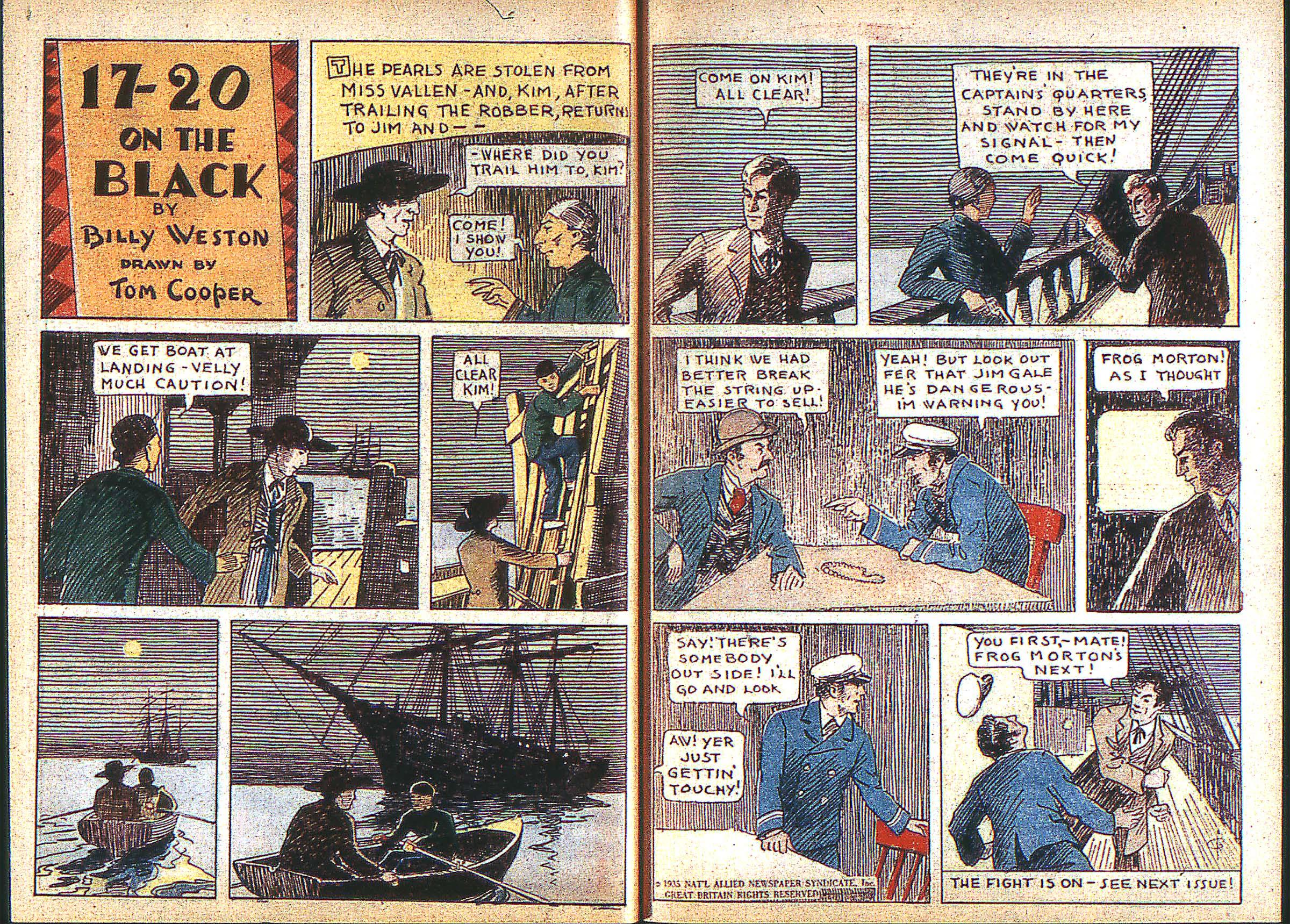 Read online Adventure Comics (1938) comic -  Issue #3 - 10