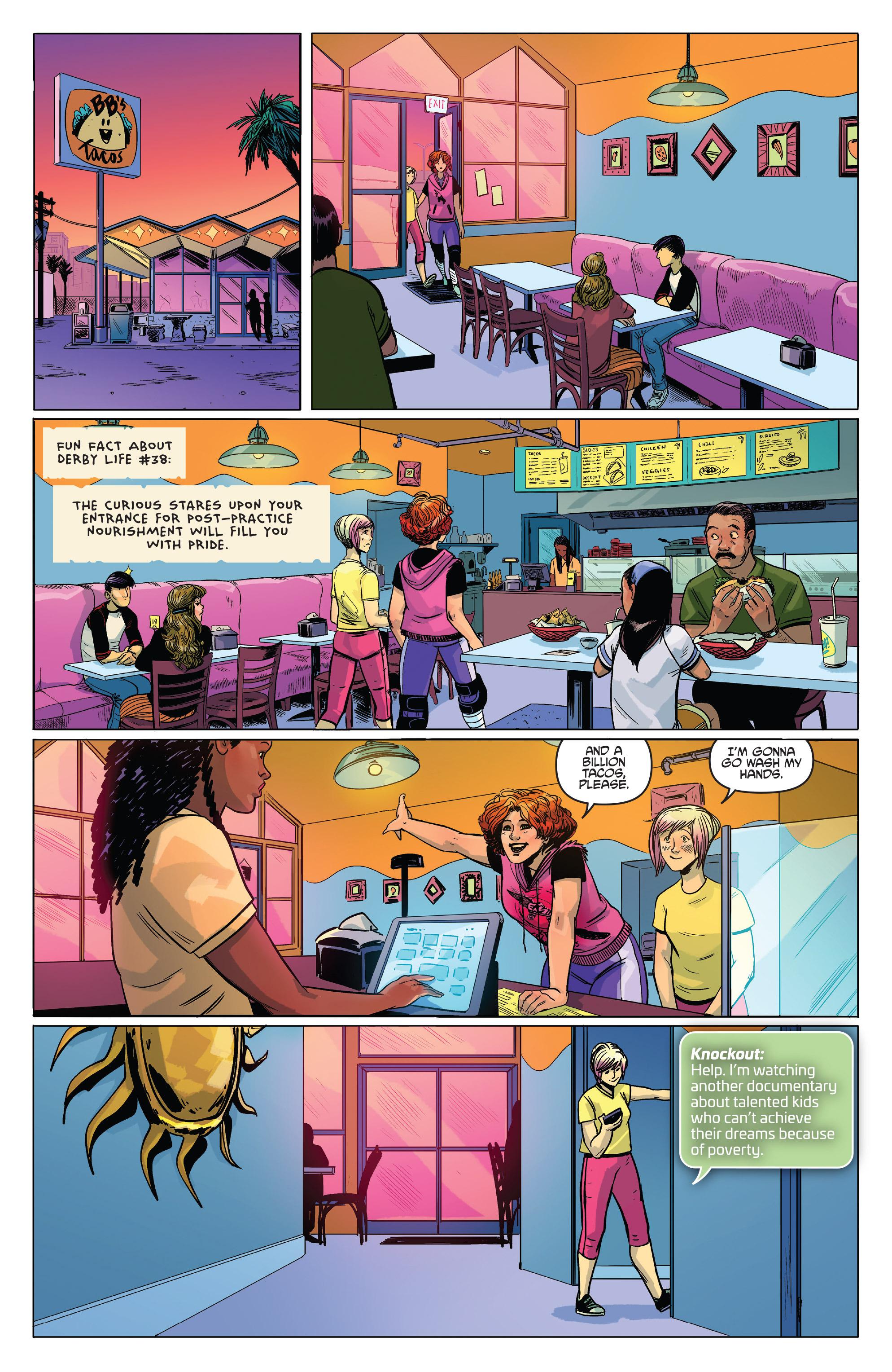 Read online Slam! comic -  Issue #3 - 4