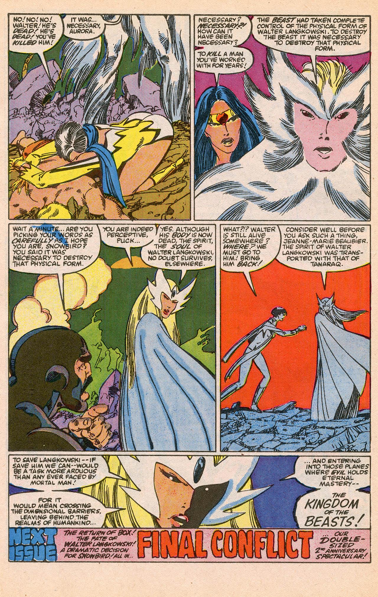 Read online Alpha Flight (1983) comic -  Issue #23 - 32