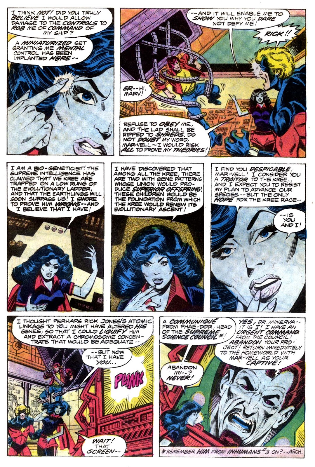 Captain Marvel (1968) issue 52 - Page 9