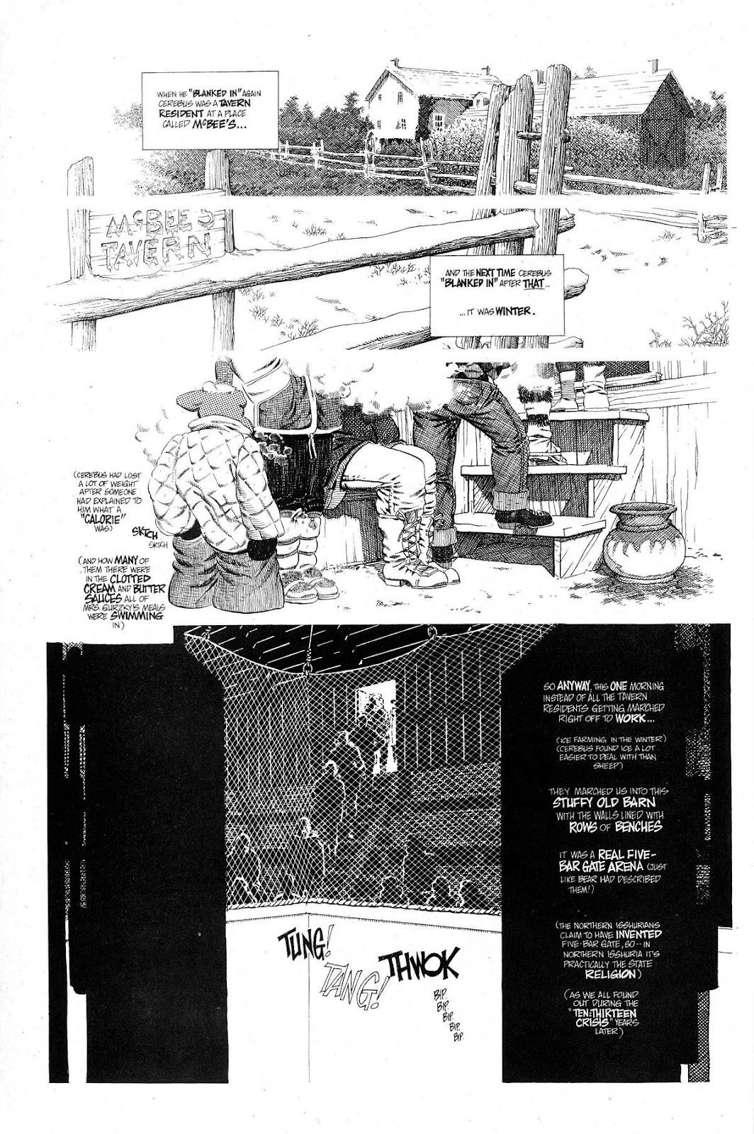 Cerebus Issue #267 #266 - English 4