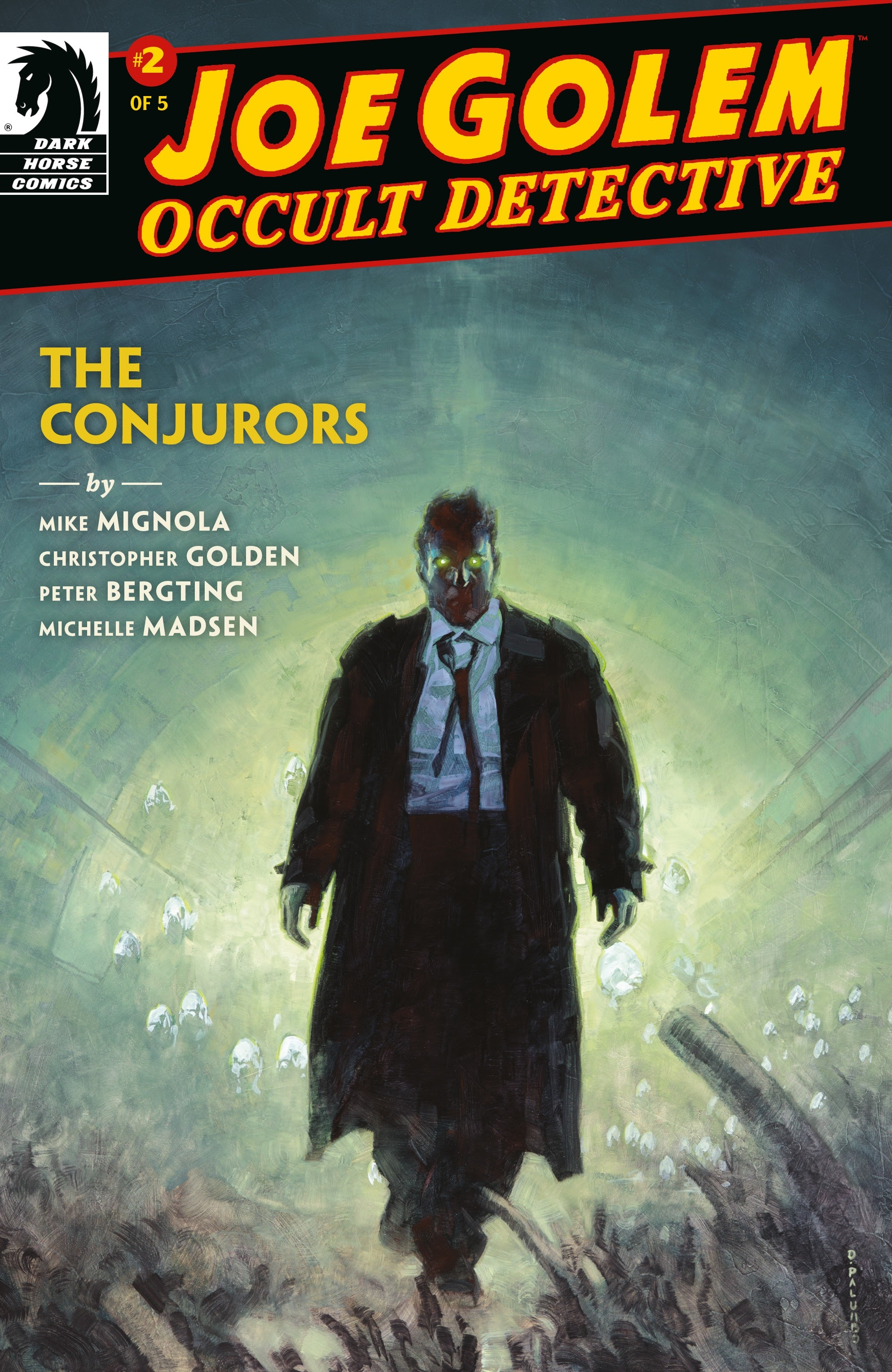 Joe Golem: Occult Detective--The Conjurors 2 Page 1