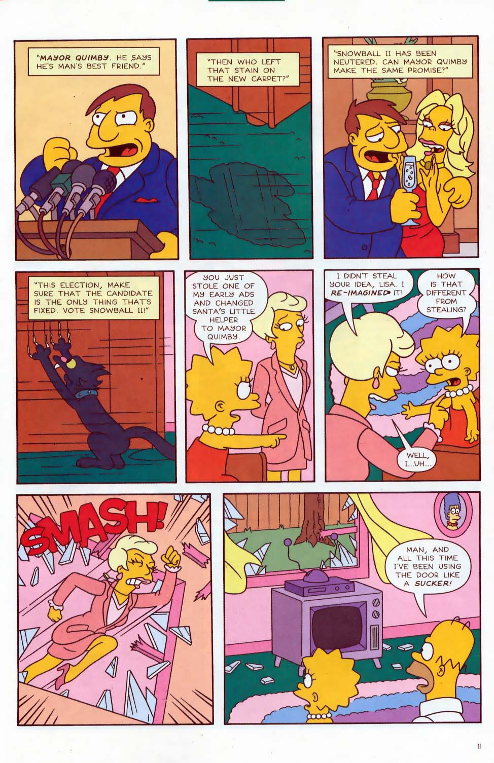 Read online Simpsons Comics comic -  Issue #87 - 12