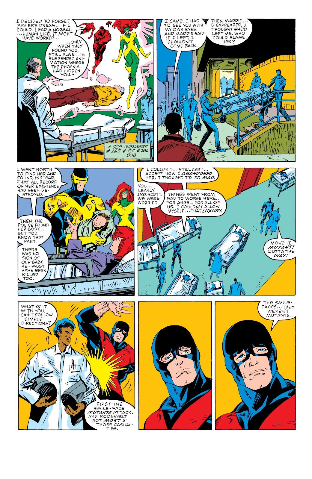 Read online X-Men Milestones: Fall of the Mutants comic -  Issue # TPB (Part 3) - 57