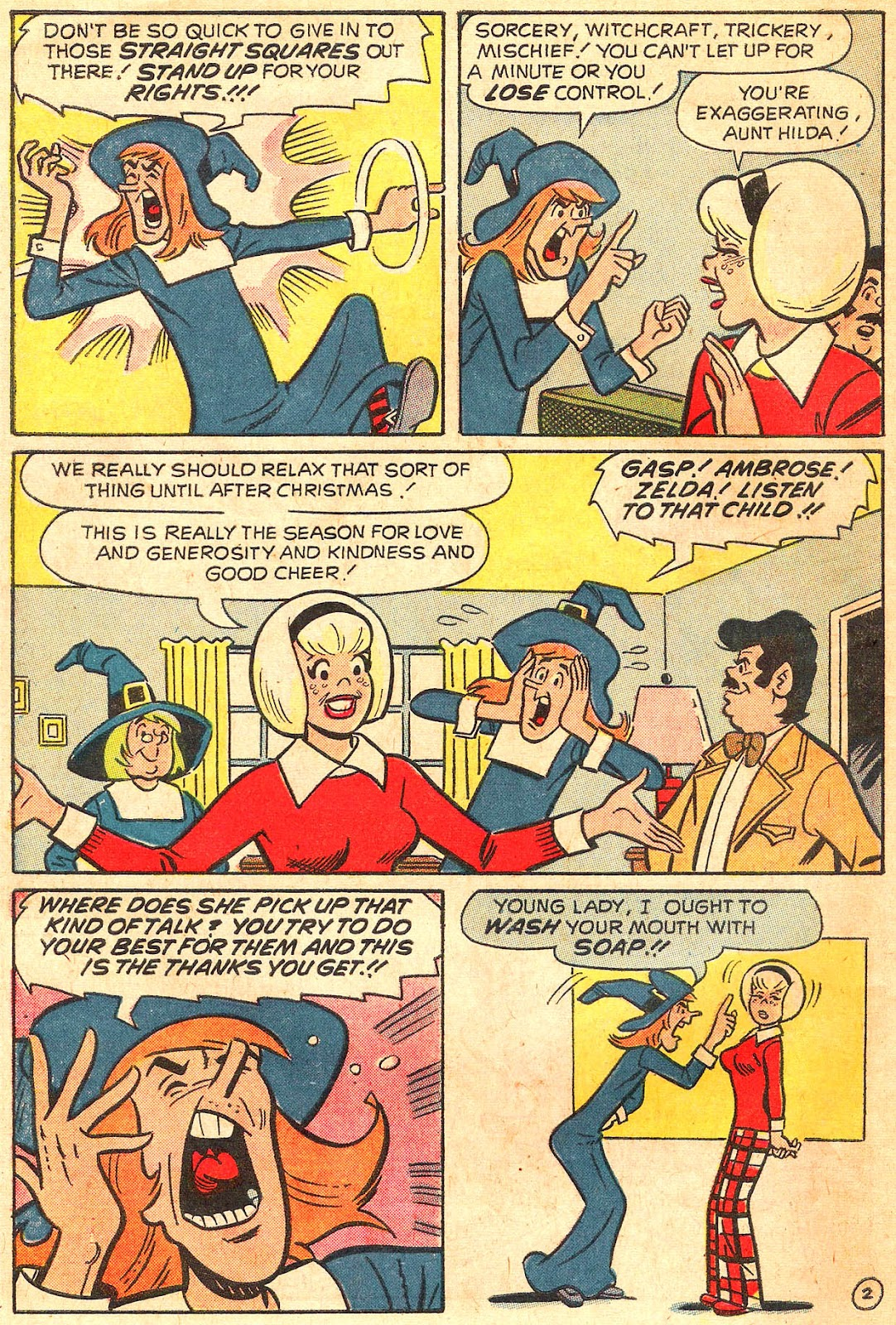 Sabrina The Teenage Witch (1971) Issue #17 #17 - English 46