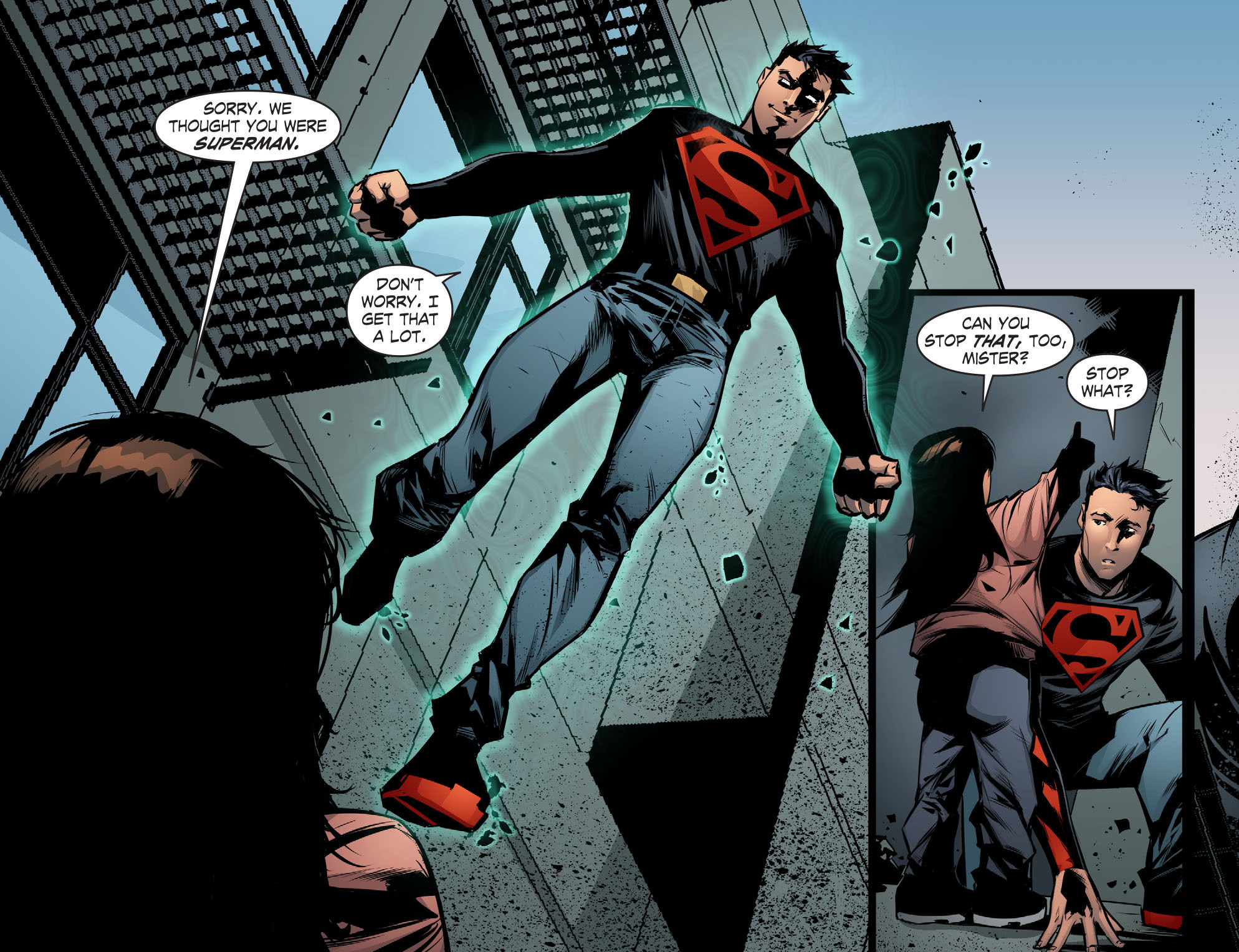 Read online Smallville: Chaos [II] comic -  Issue #7 - 18