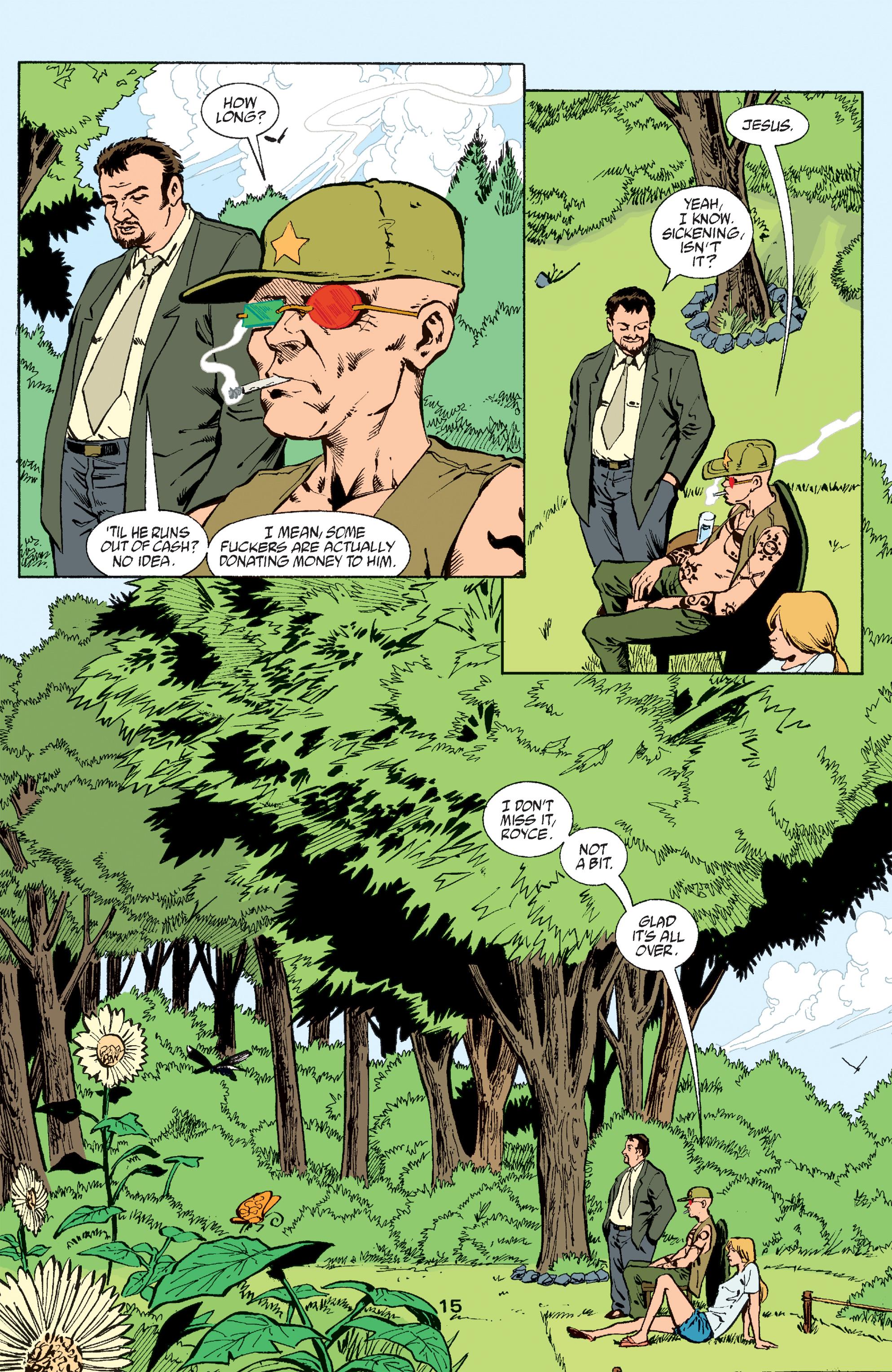 Read online Transmetropolitan comic -  Issue #60 - 15