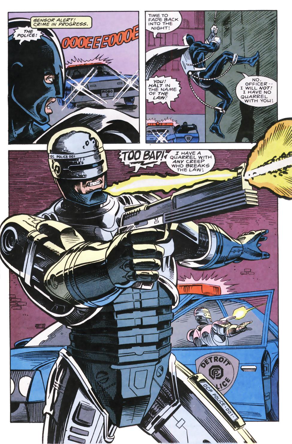 Read online Robocop (1990) comic -  Issue #9 - 4