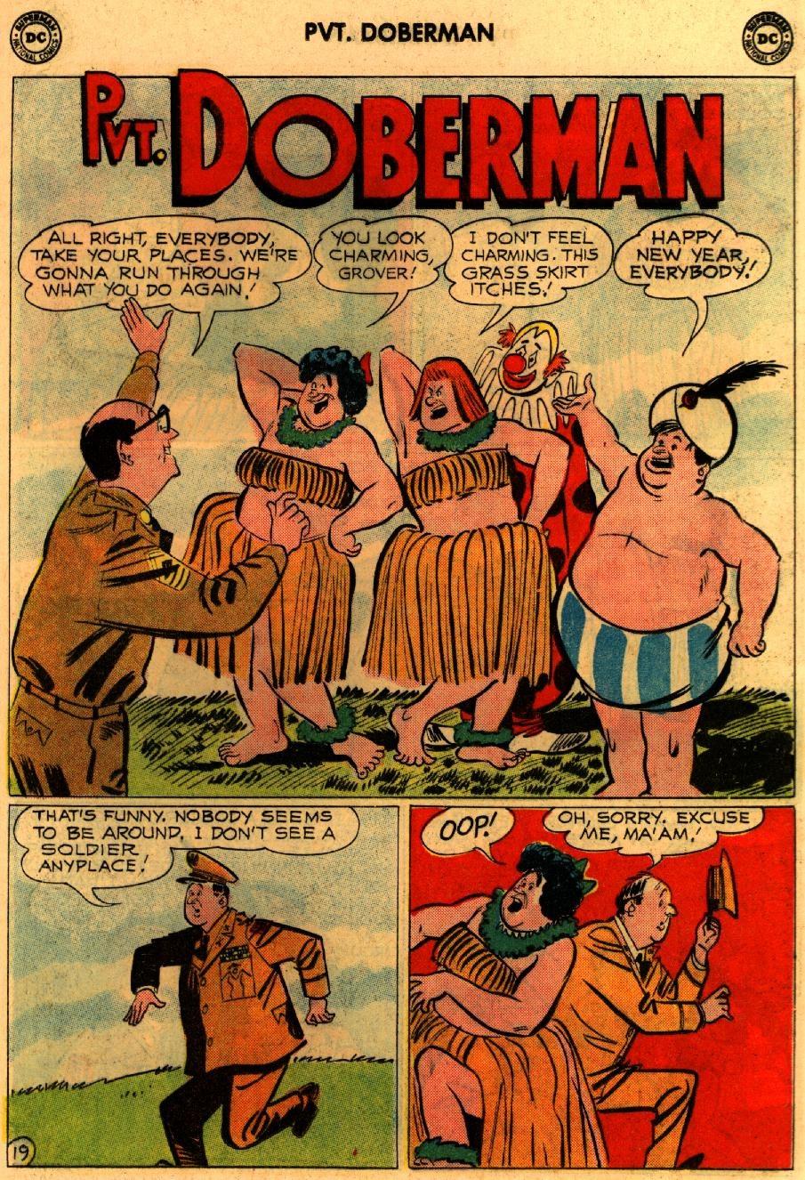 Sgt. Bilko's Pvt. Doberman issue 9 - Page 25