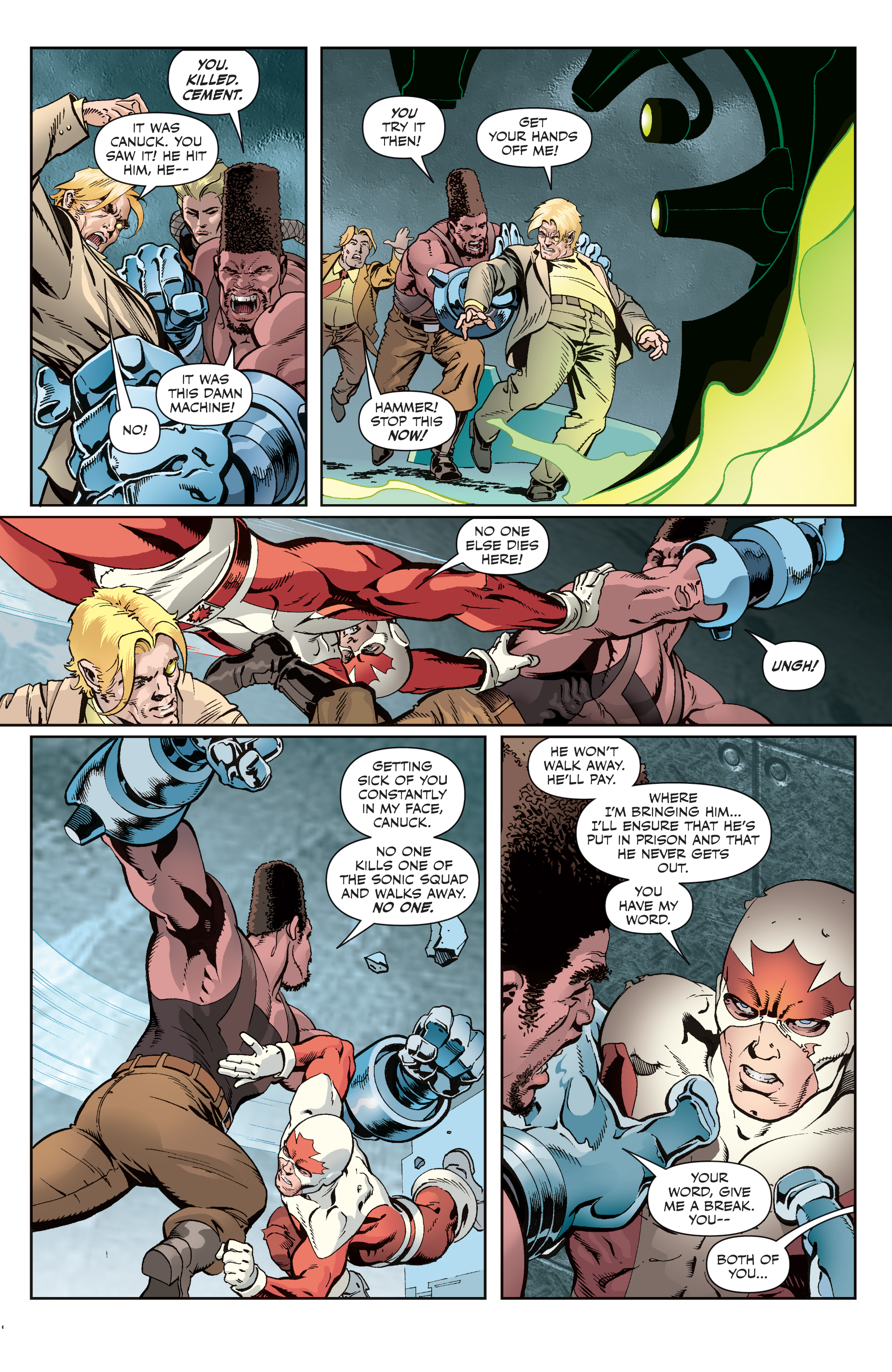 Read online All-New Classic Captain Canuck comic -  Issue #4 - 14