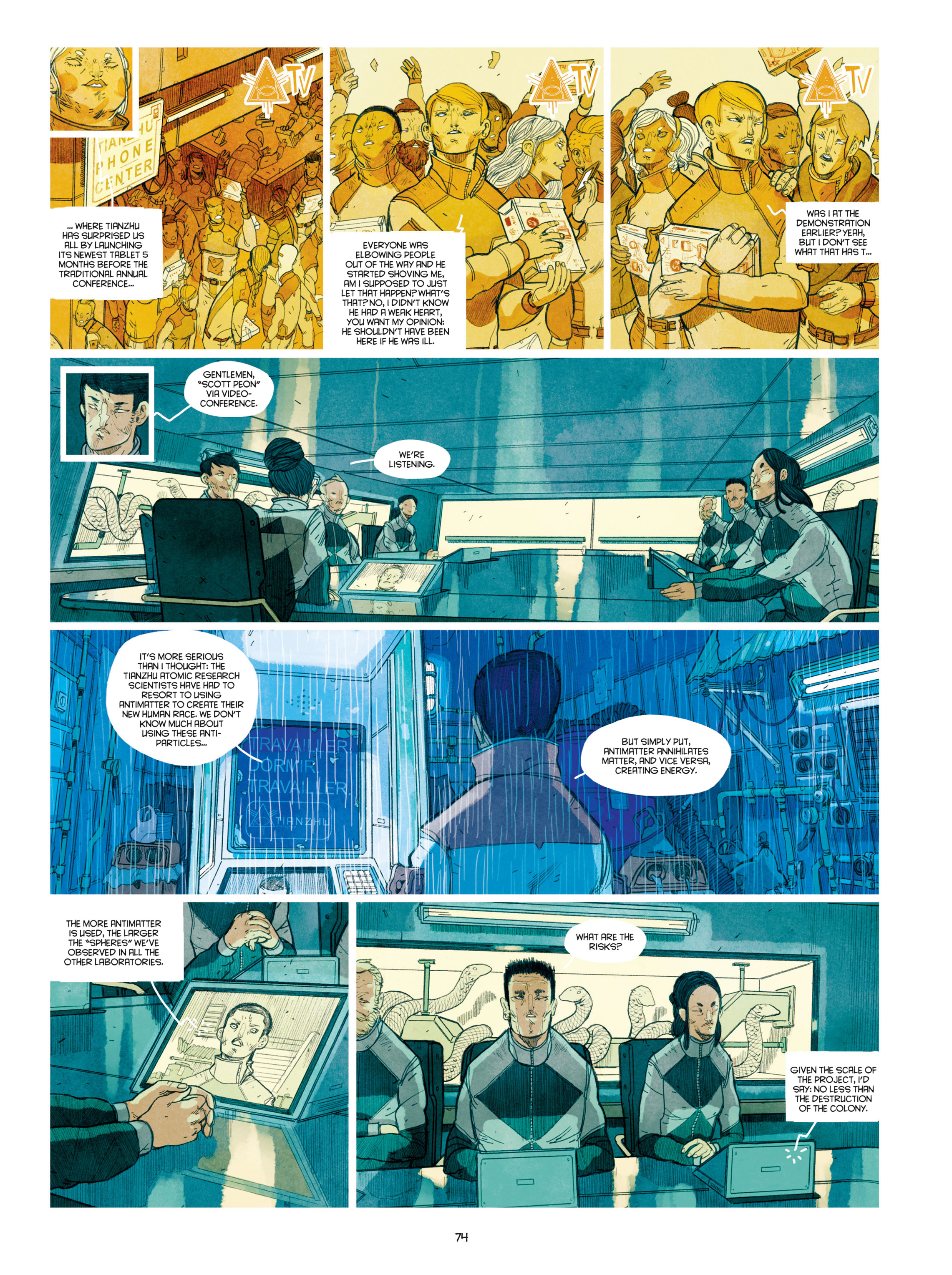 Read online Shangri-La comic -  Issue # Full - 75