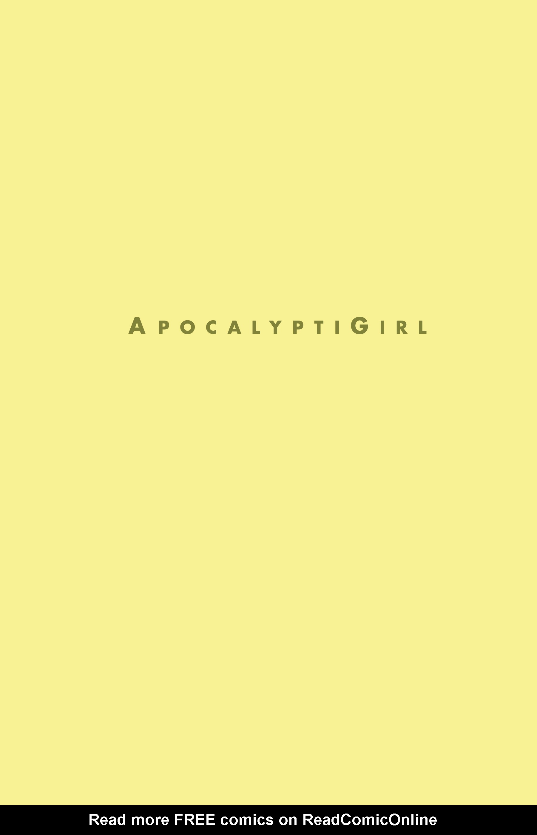 Read online ApocalyptiGirl: An Aria for the End Times comic -  Issue #ApocalyptiGirl: An Aria for the End Times Full - 3