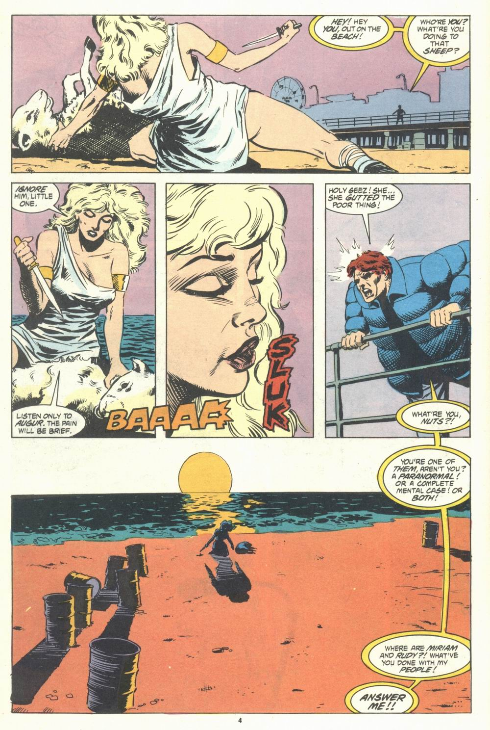 Read online Justice (1986) comic -  Issue #31 - 6