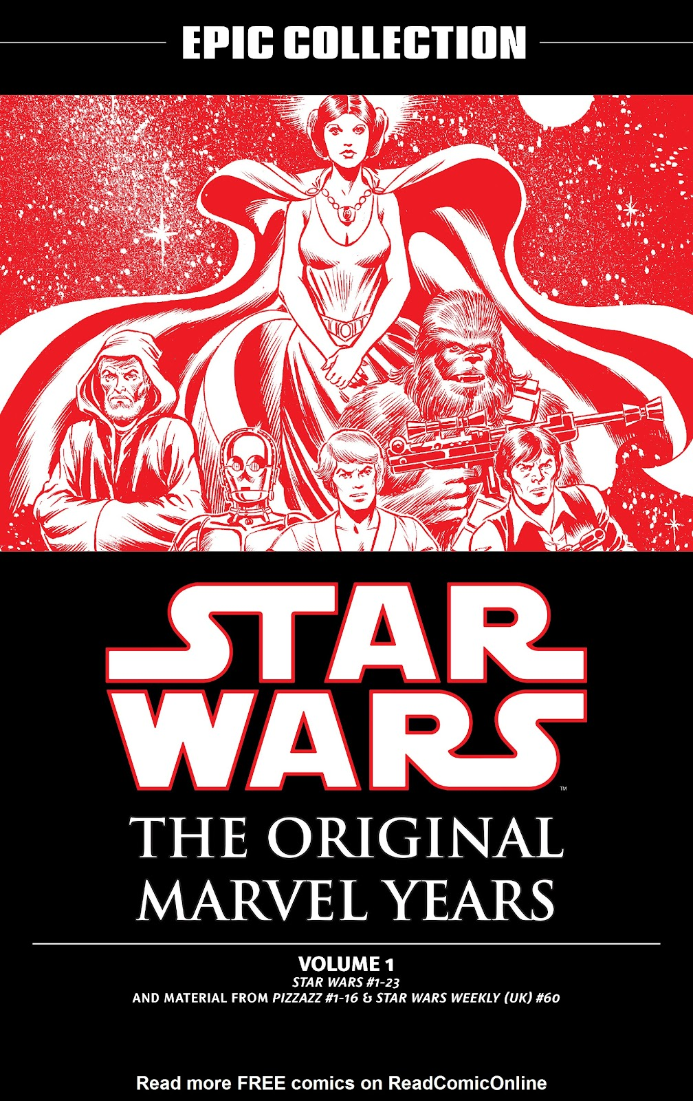 Read online Star Wars Legends: The Original Marvel Years - Epic Collection comic -  Issue # TPB 1 (Part 1) - 2