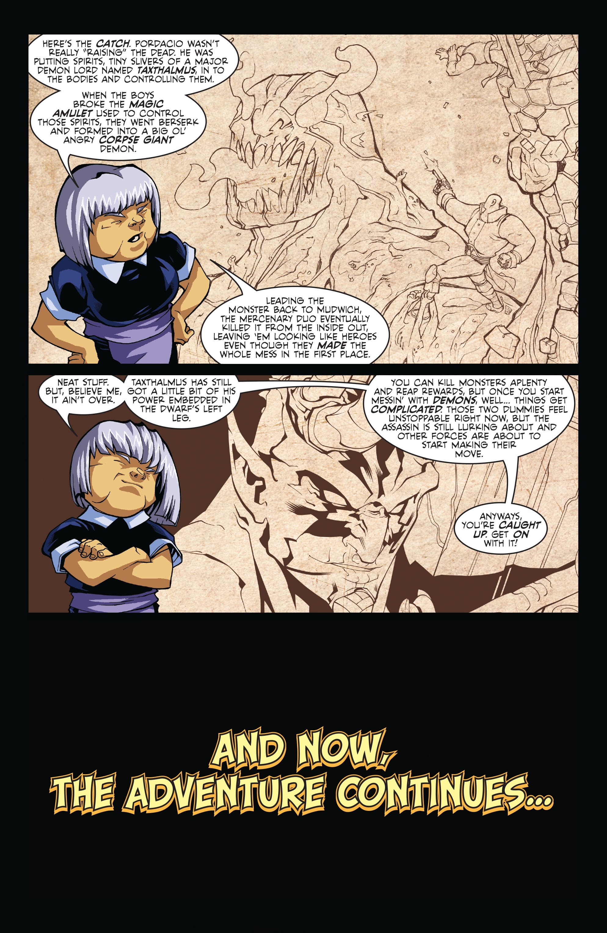 Read online Skullkickers comic -  Issue #7 - 4