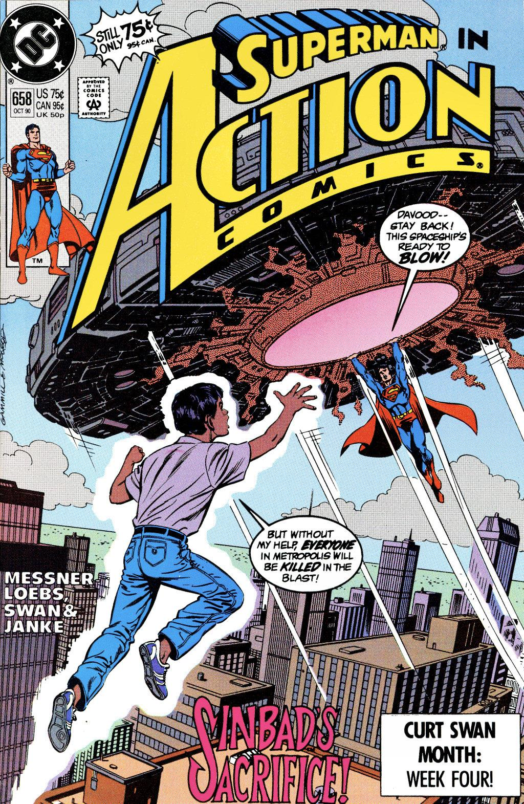 Read online Action Comics (1938) comic -  Issue #658 - 1