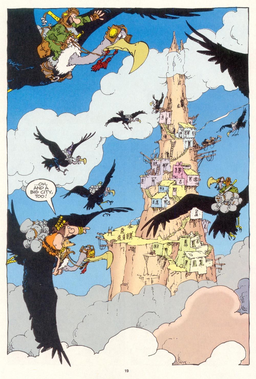 Read online Sergio Aragonés Groo the Wanderer comic -  Issue #114 - 21