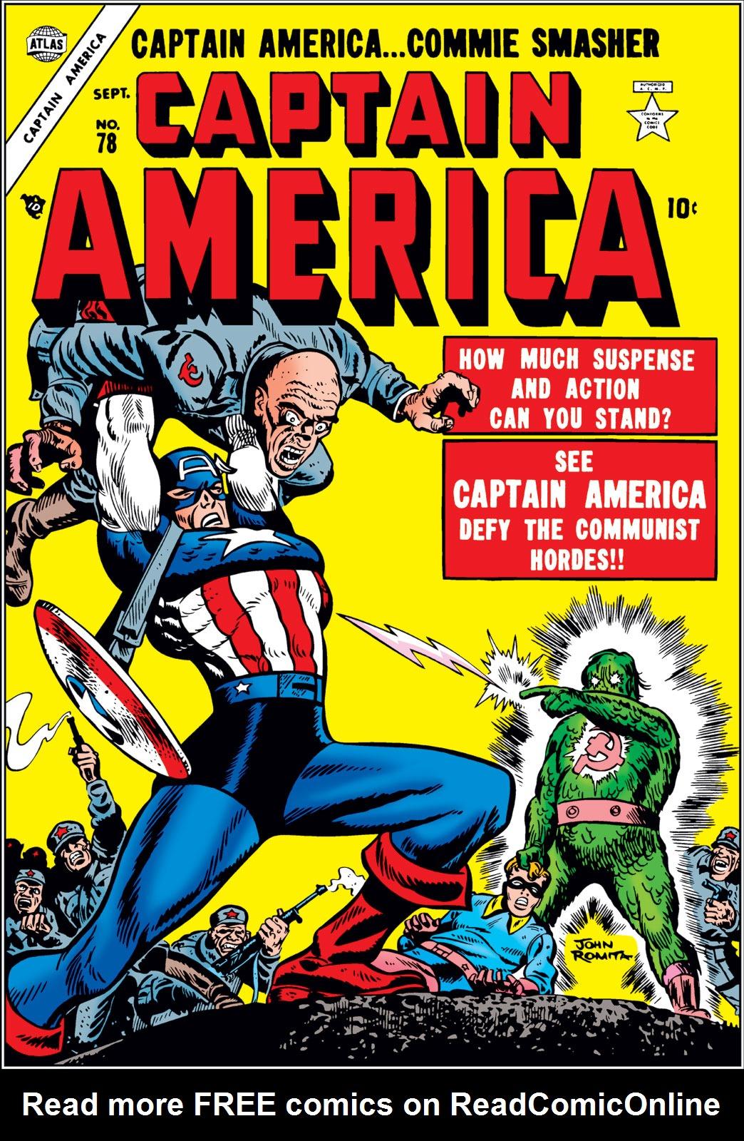Captain America Comics 78 Page 1