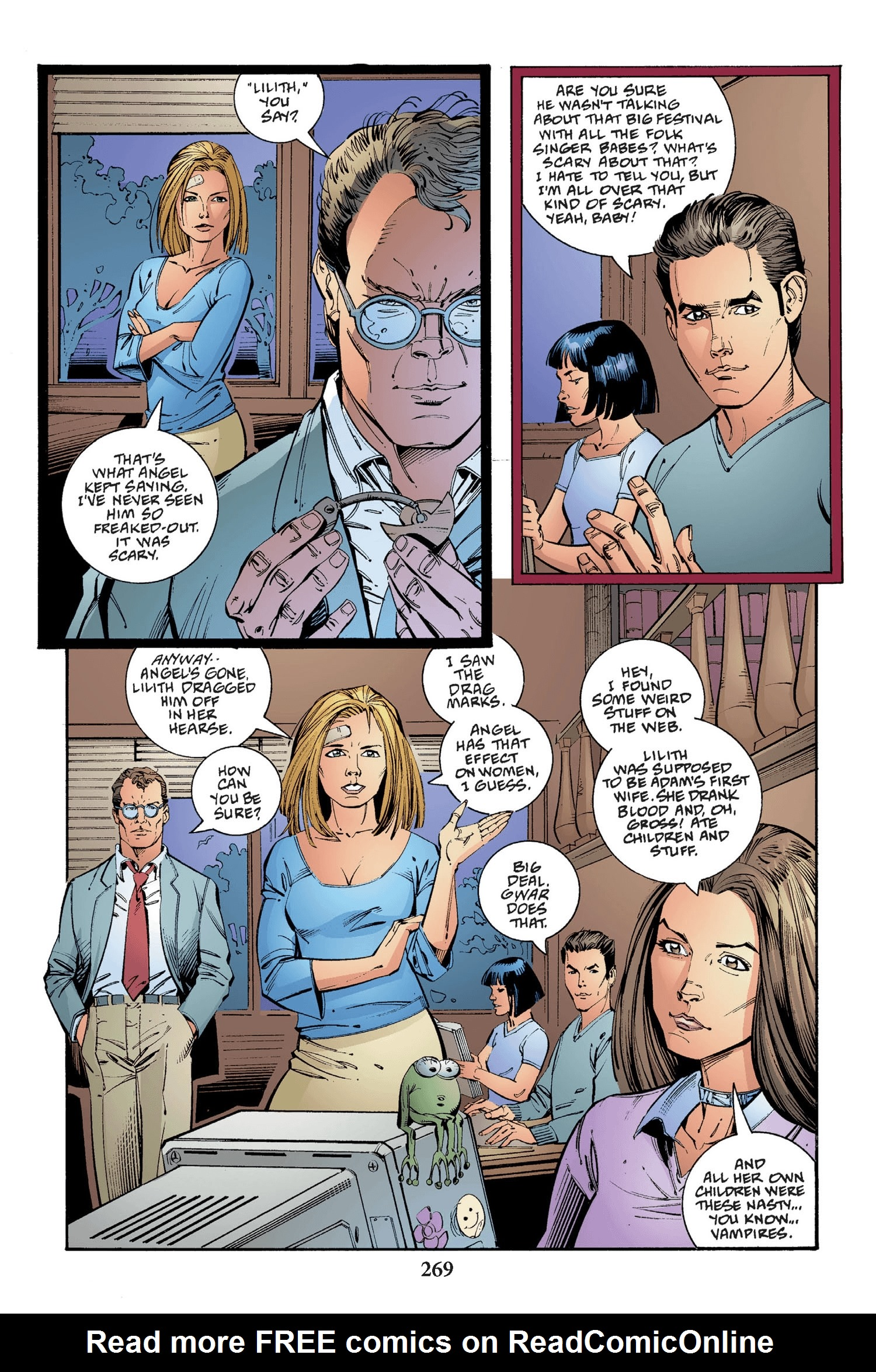 Read online Buffy the Vampire Slayer: Omnibus comic -  Issue # TPB 2 - 261