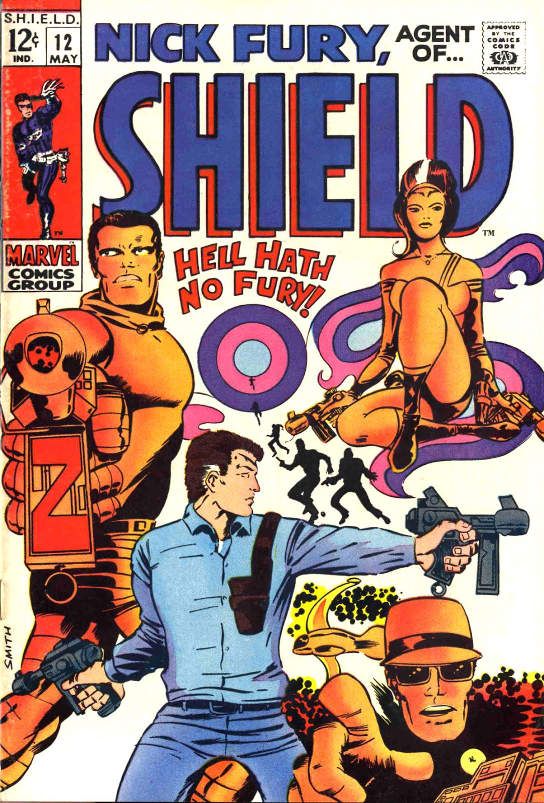 Nick Fury, Agent of SHIELD 12 Page 1