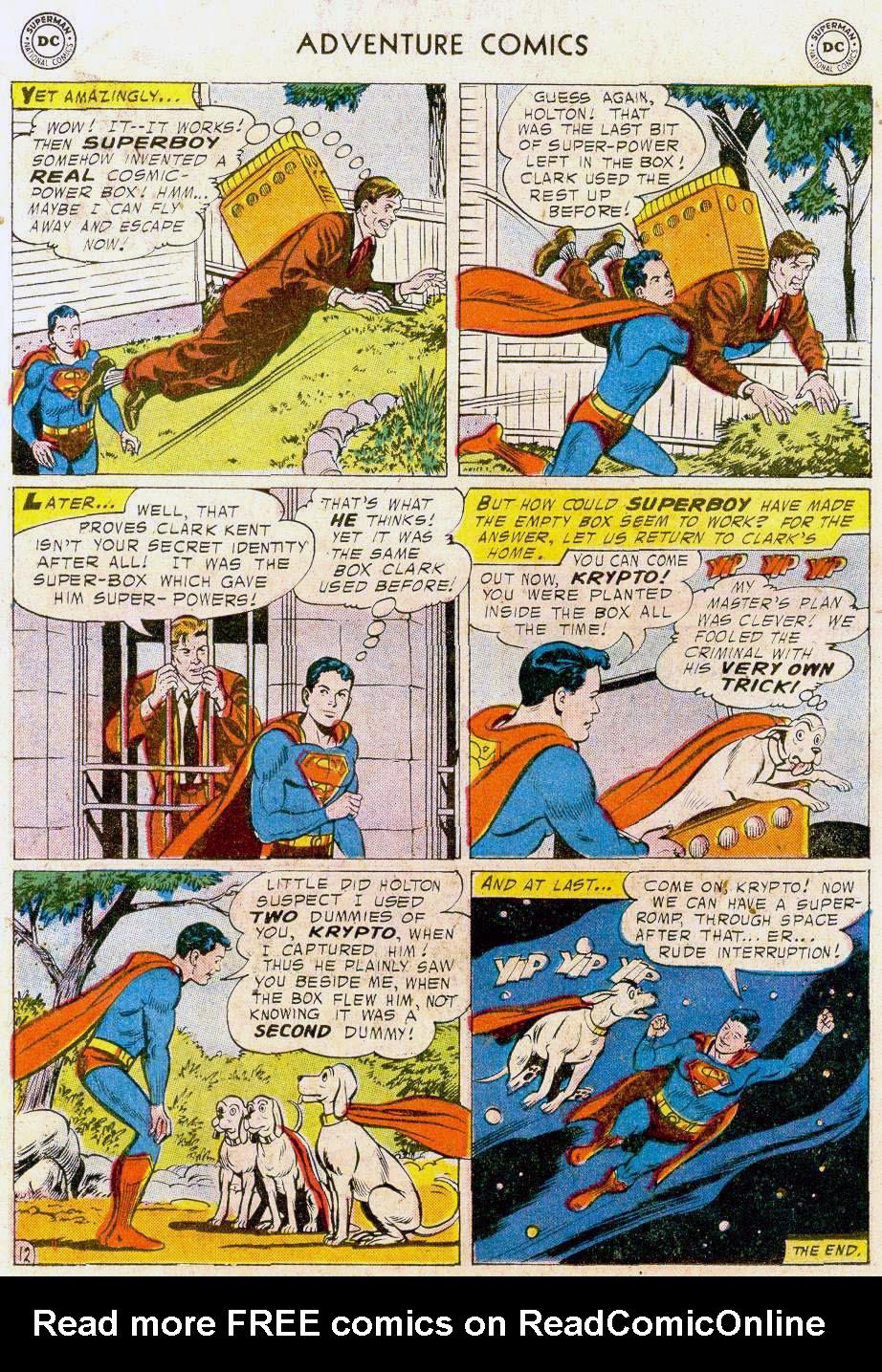Read online Adventure Comics (1938) comic -  Issue #241 - 14