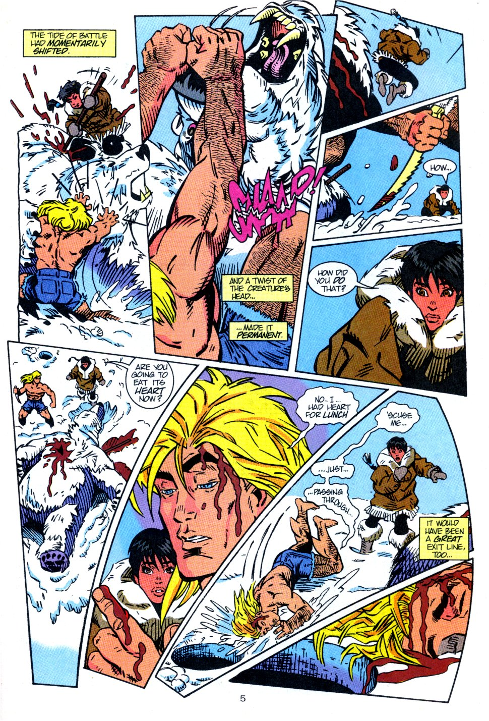 Read online Aquaman: Time and Tide comic -  Issue #3 - 6