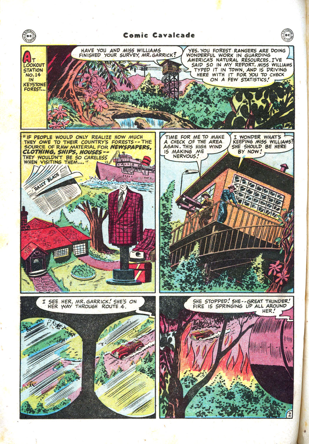 Comic Cavalcade issue 26 - Page 62