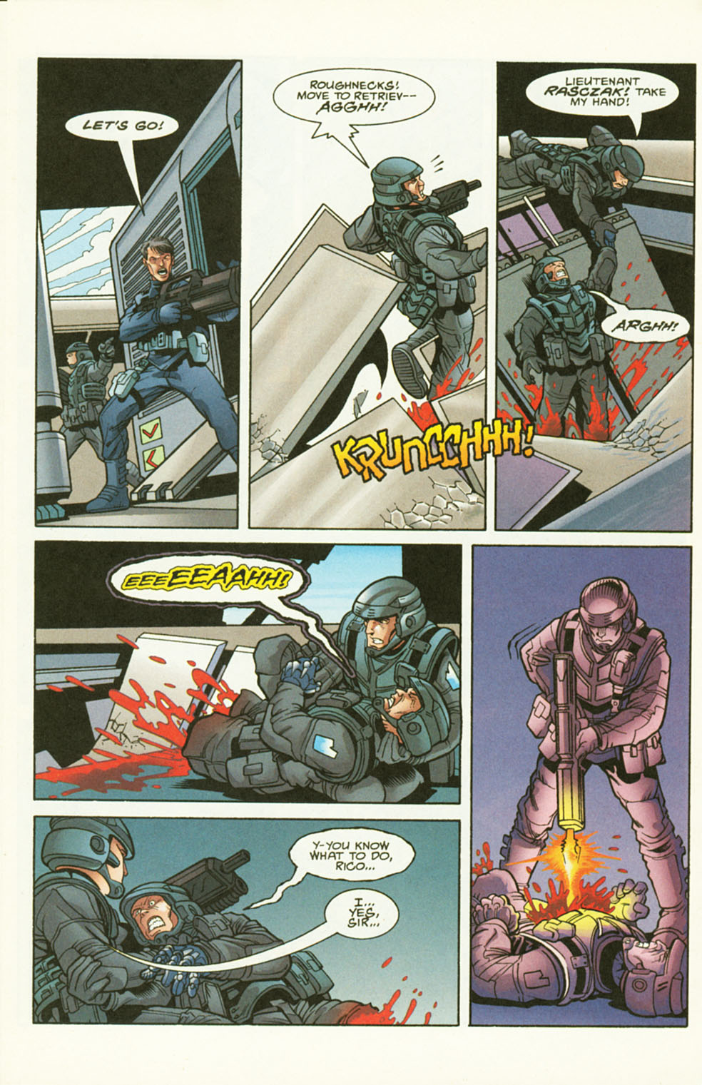 Read online Starship Troopers comic -  Issue #2 - 14