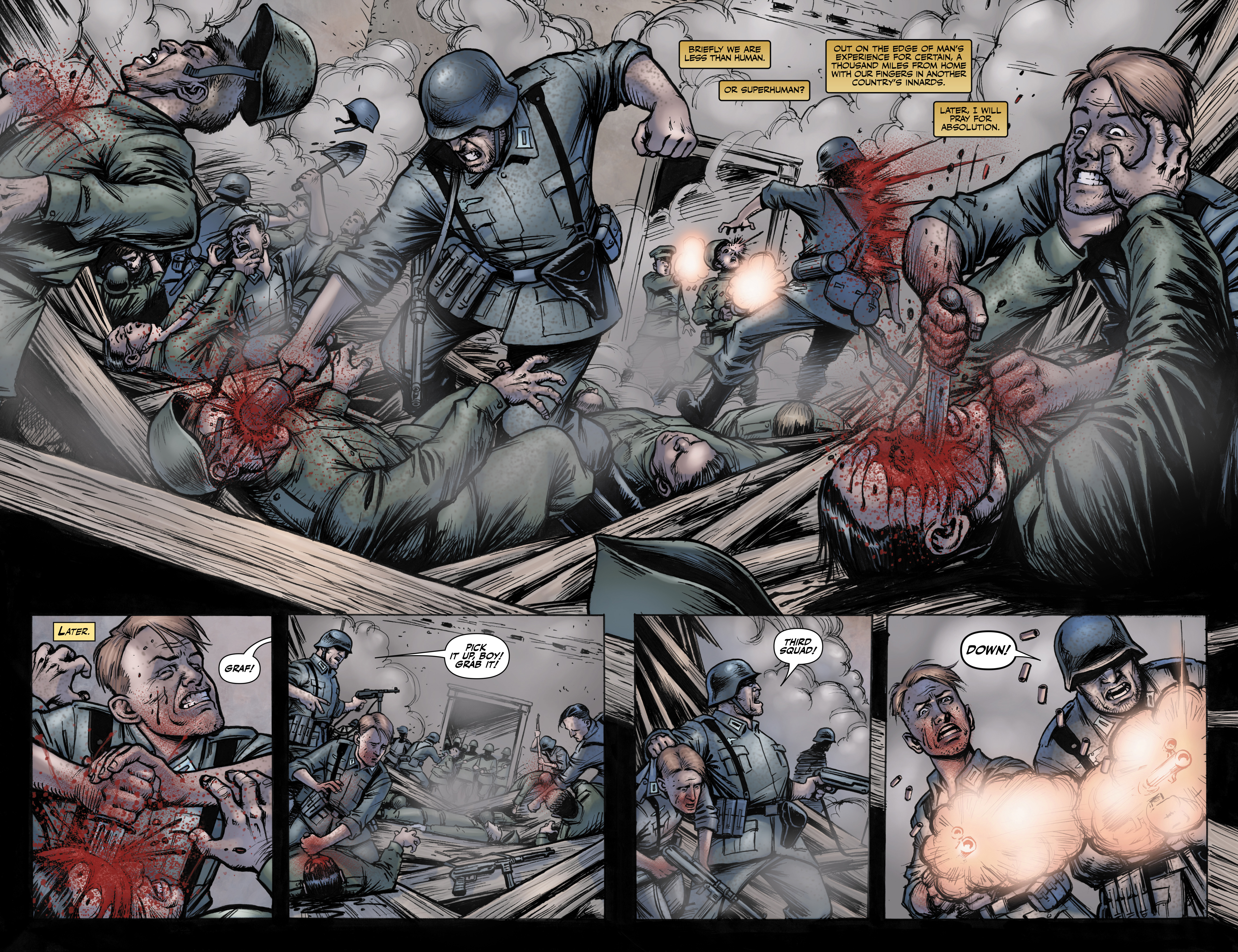 Read online Battlefields: Night Witches comic -  Issue # TPB - 13