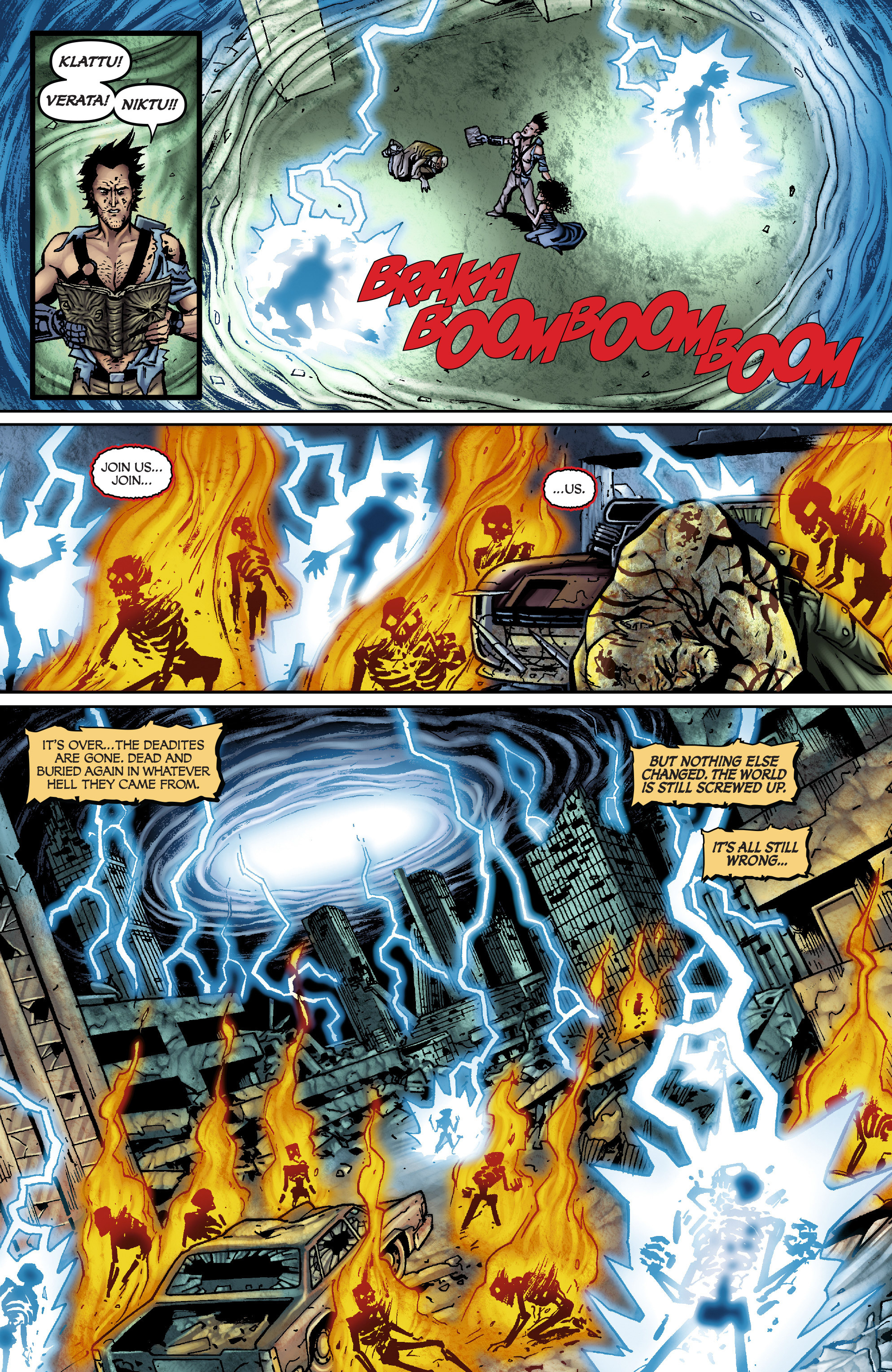 Read online Army of Darkness: From the Ashes comic -  Issue #Army of Darkness: From the Ashes TPB - 100