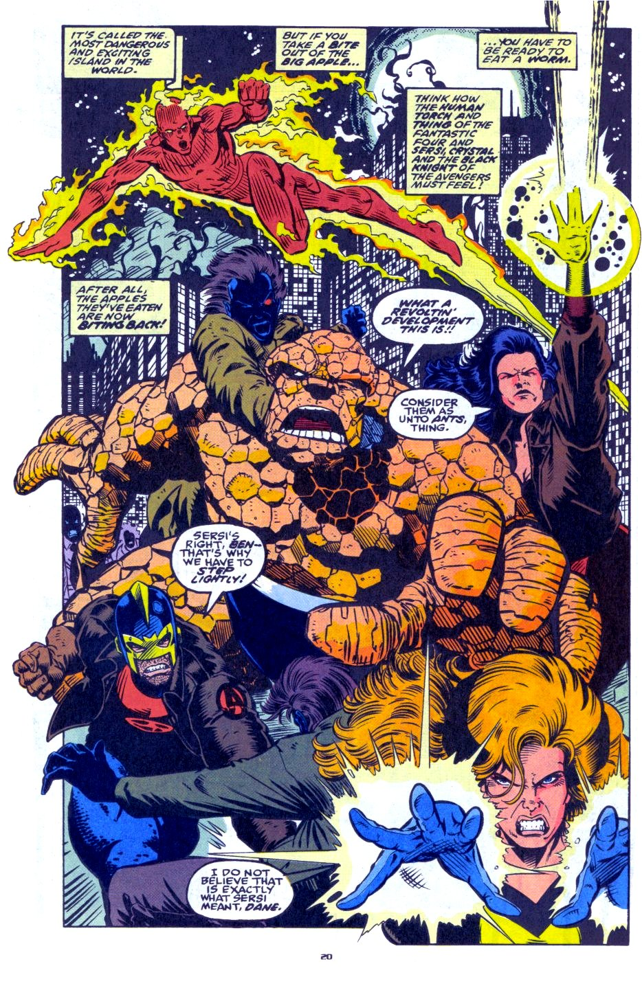 The New Warriors Issue #33 #37 - English 17
