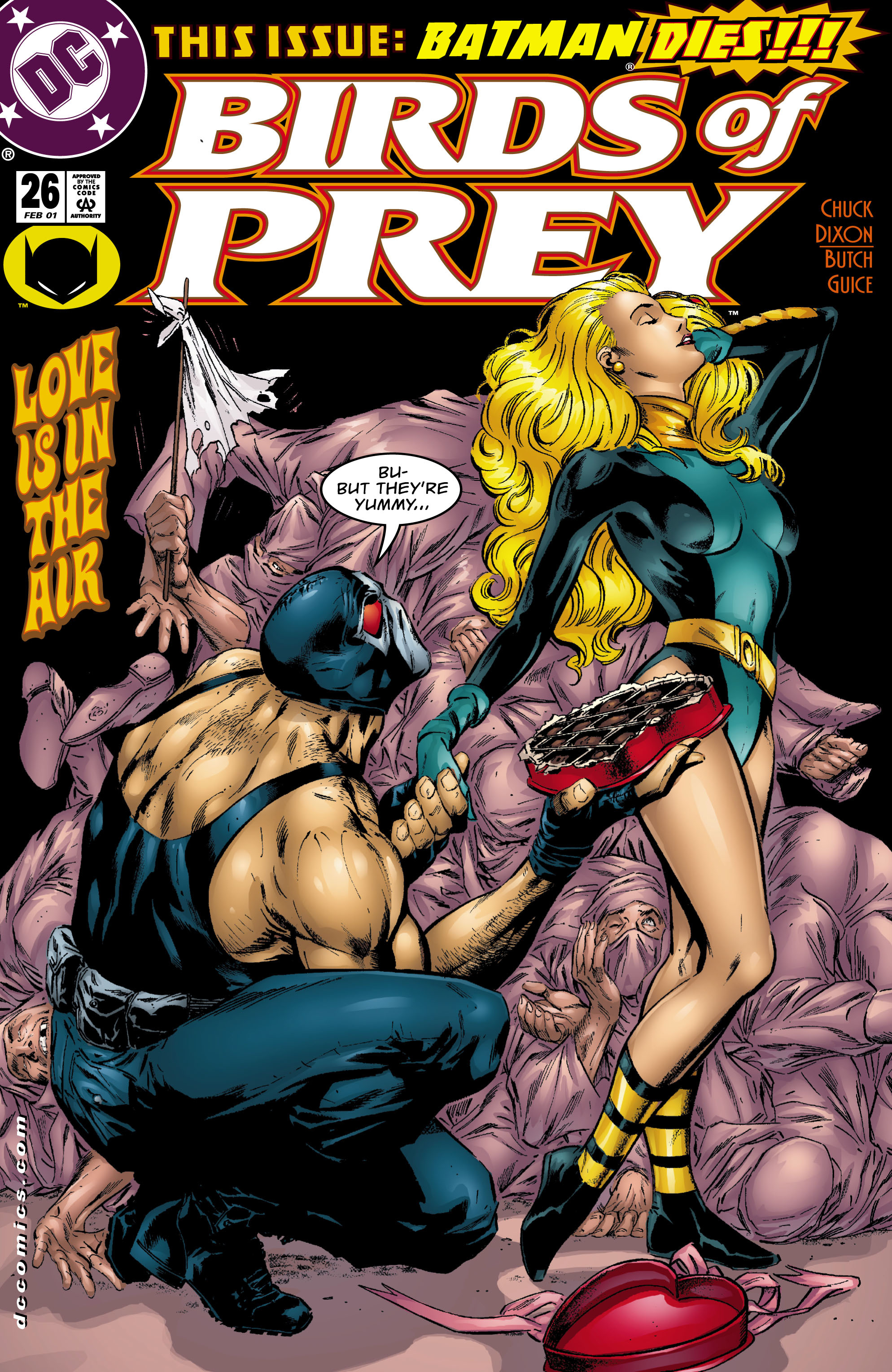 Birds of Prey (1999) 26 Page 1