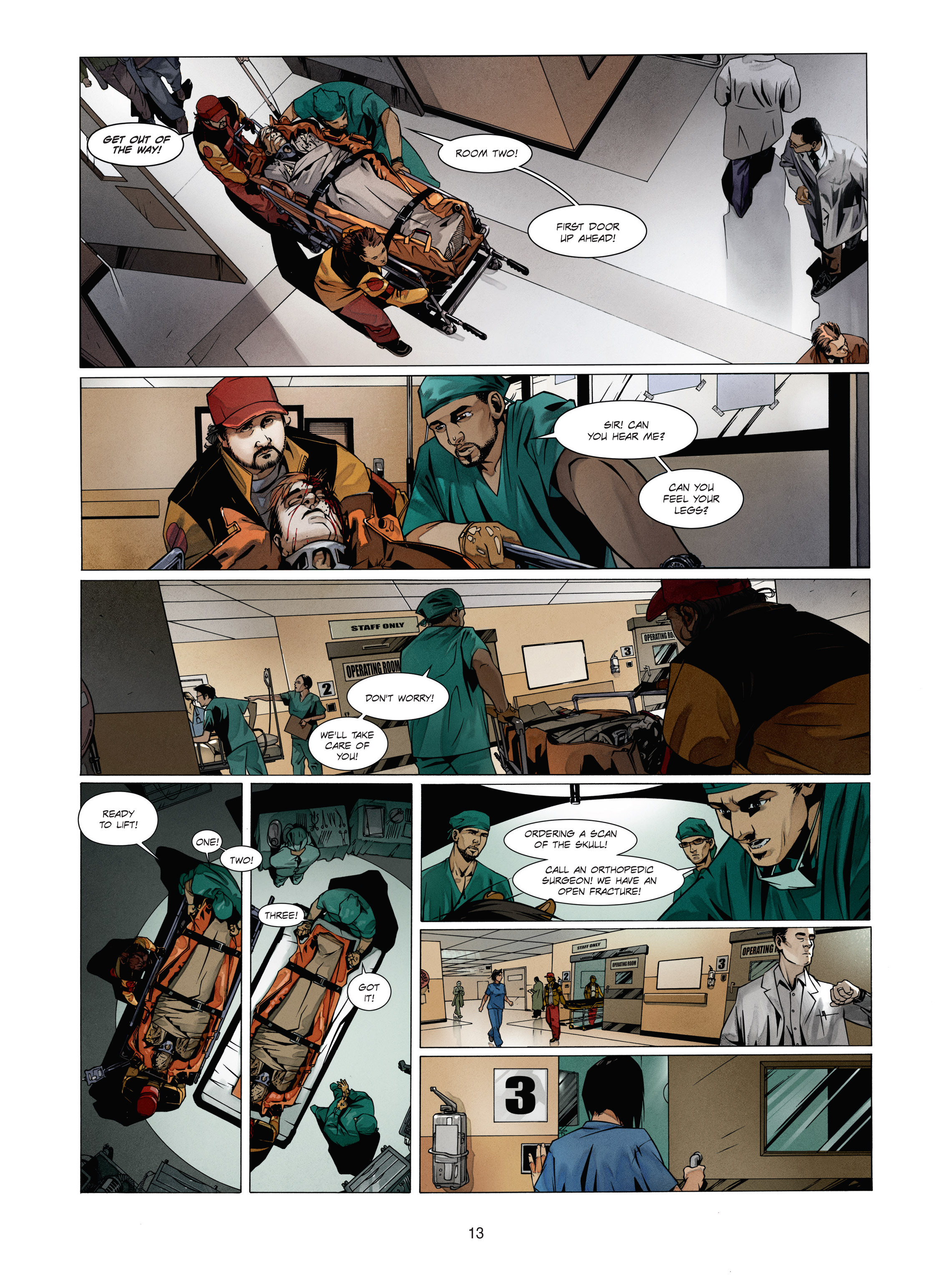 Read online Alice Matheson comic -  Issue #1 - 12