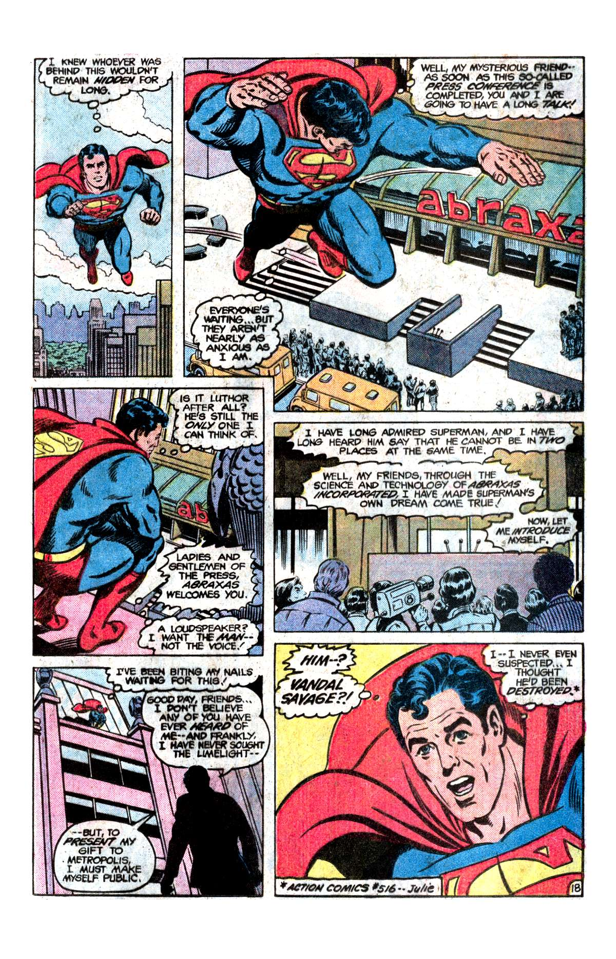 Read online Action Comics (1938) comic -  Issue #542 - 19